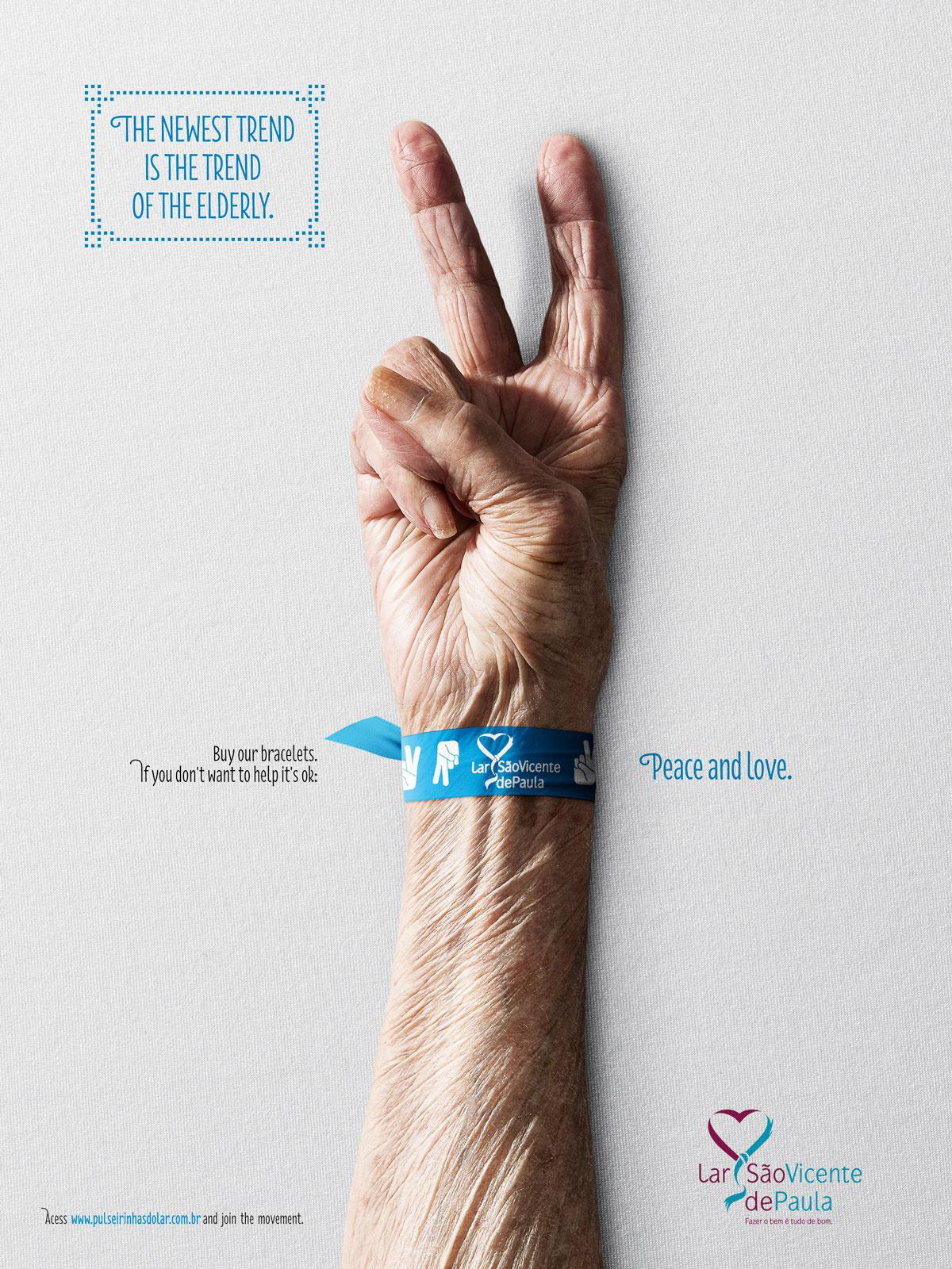 Lar São Vicente de Paula Print Ad -  The newest trend is the trend of elderly, 4