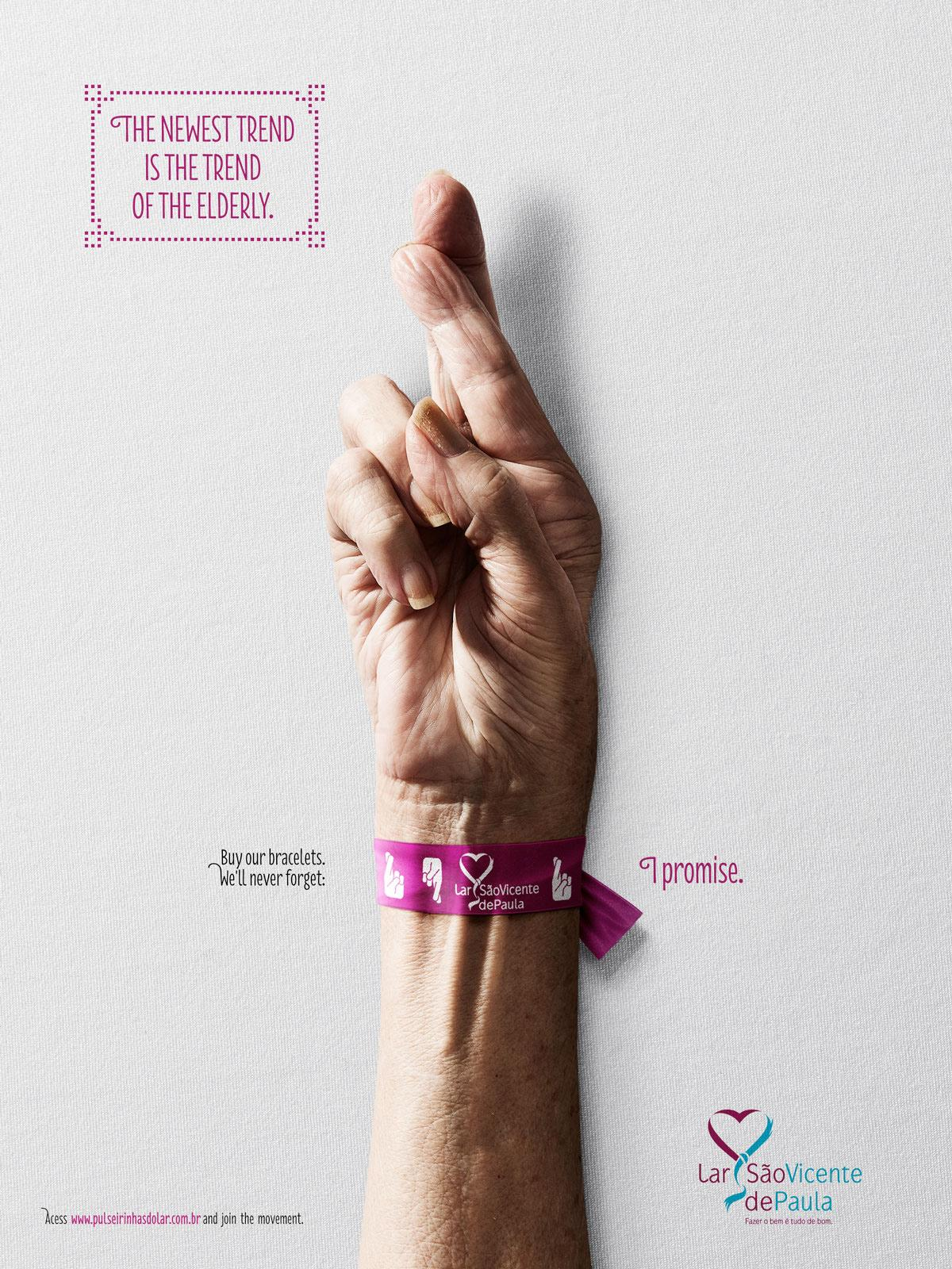 Lar São Vicente de Paula Print Ad -  The newest trend is the trend of elderly, 5