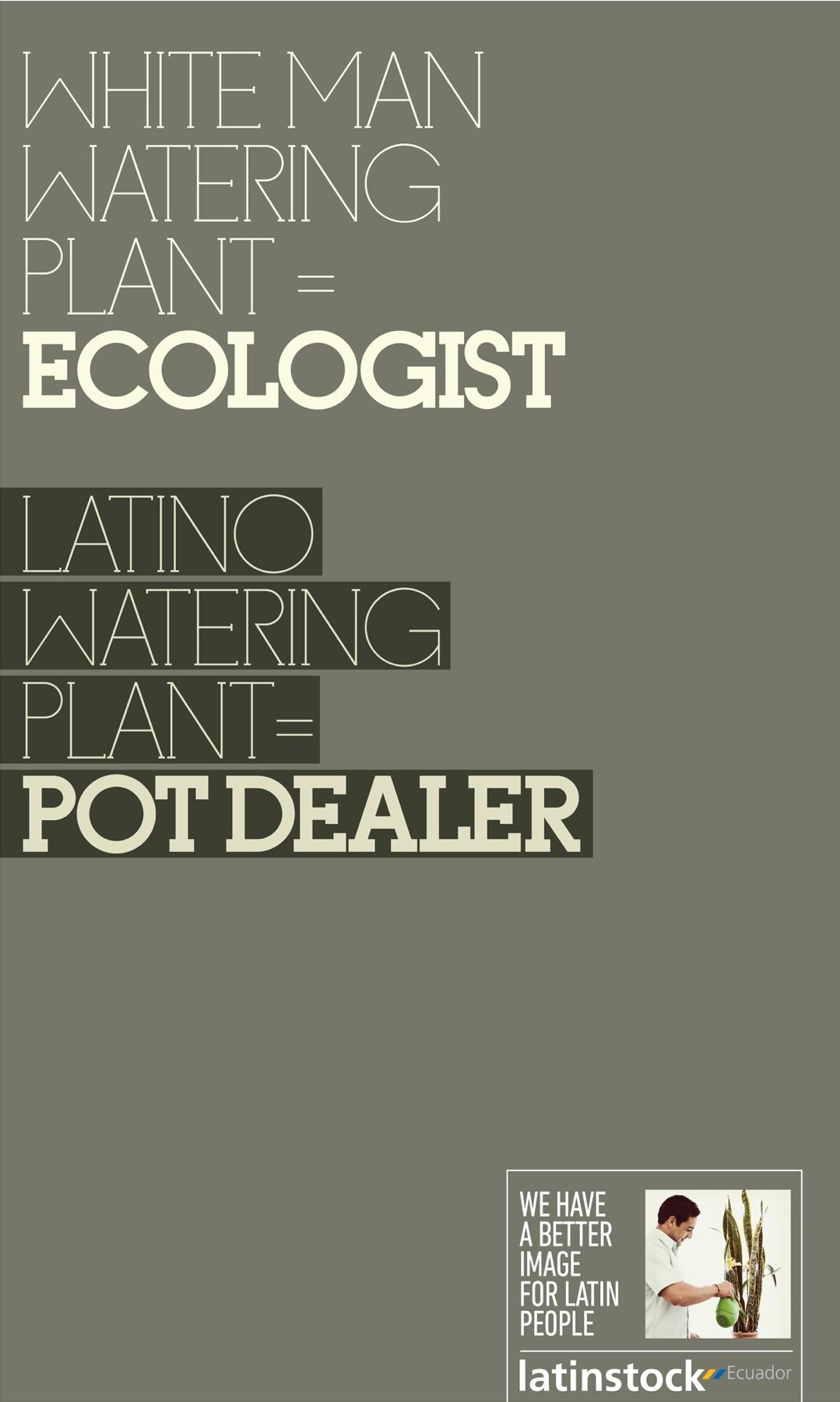 Latinstock Print Ad -  Latin people, 2