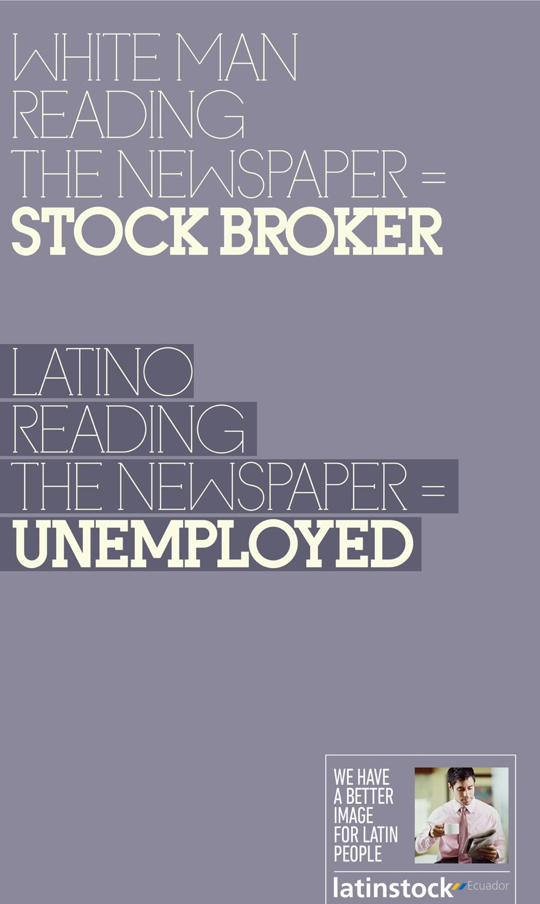 Latinstock Print Ad -  Latin people, 5