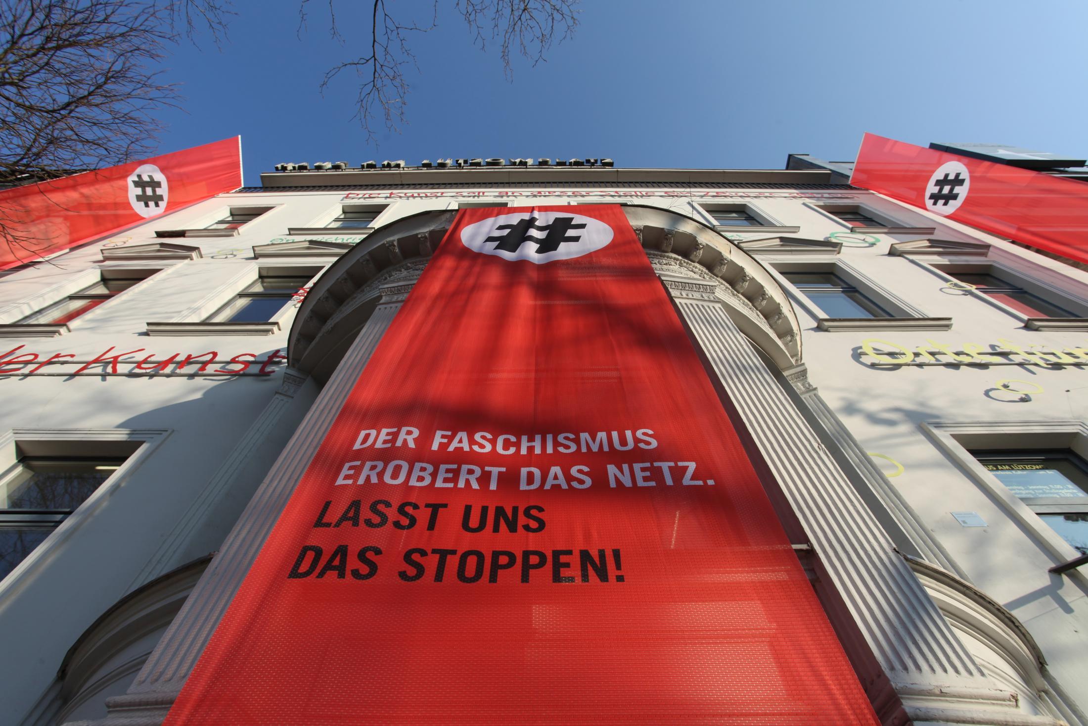 Gesicht Zeigen Film Ad - Fascism Conquers The Internet