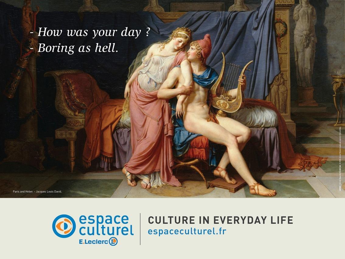 Espace Culturel Outdoor Ad -  Day