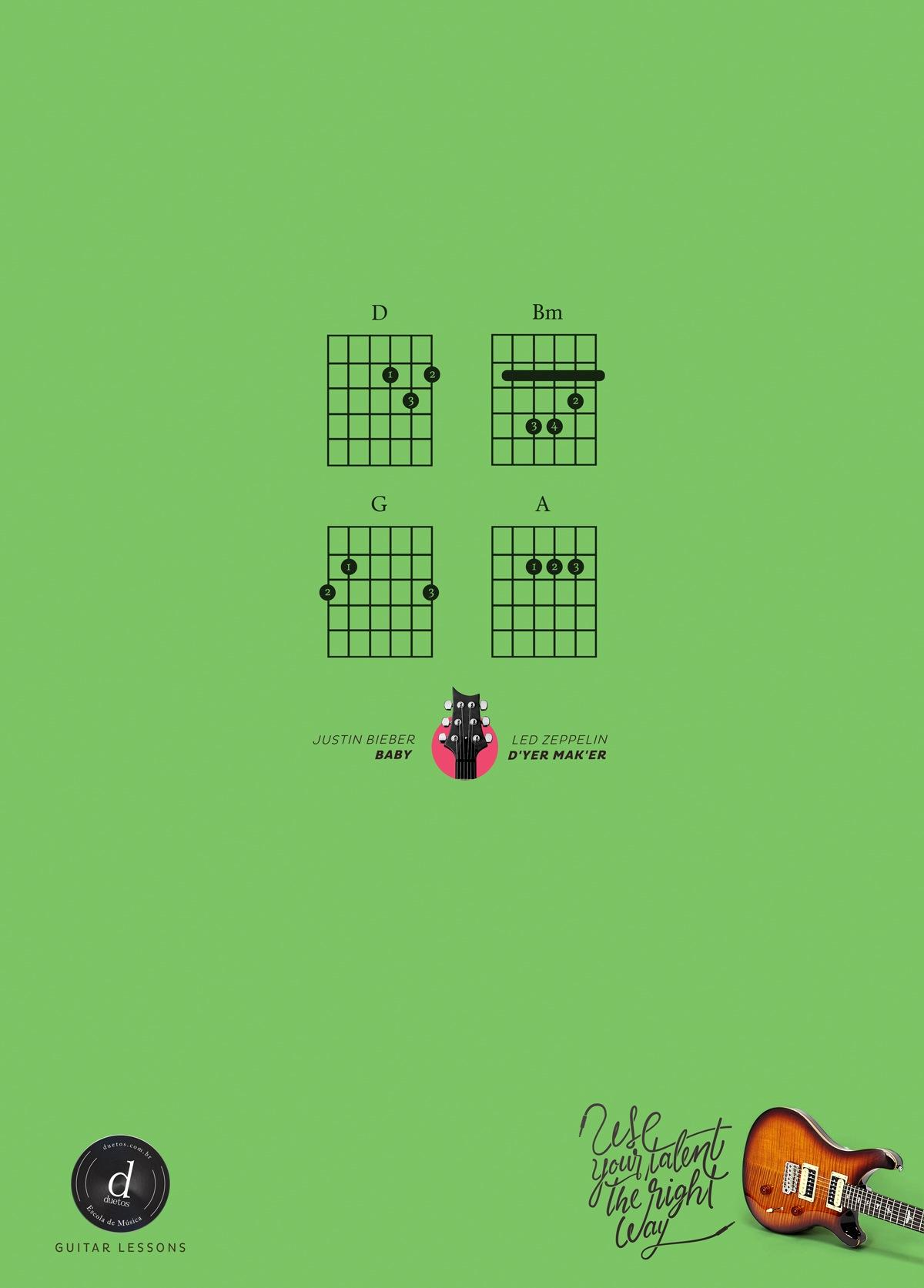 Duetos Print Ad -  Use your talent the right way, 2