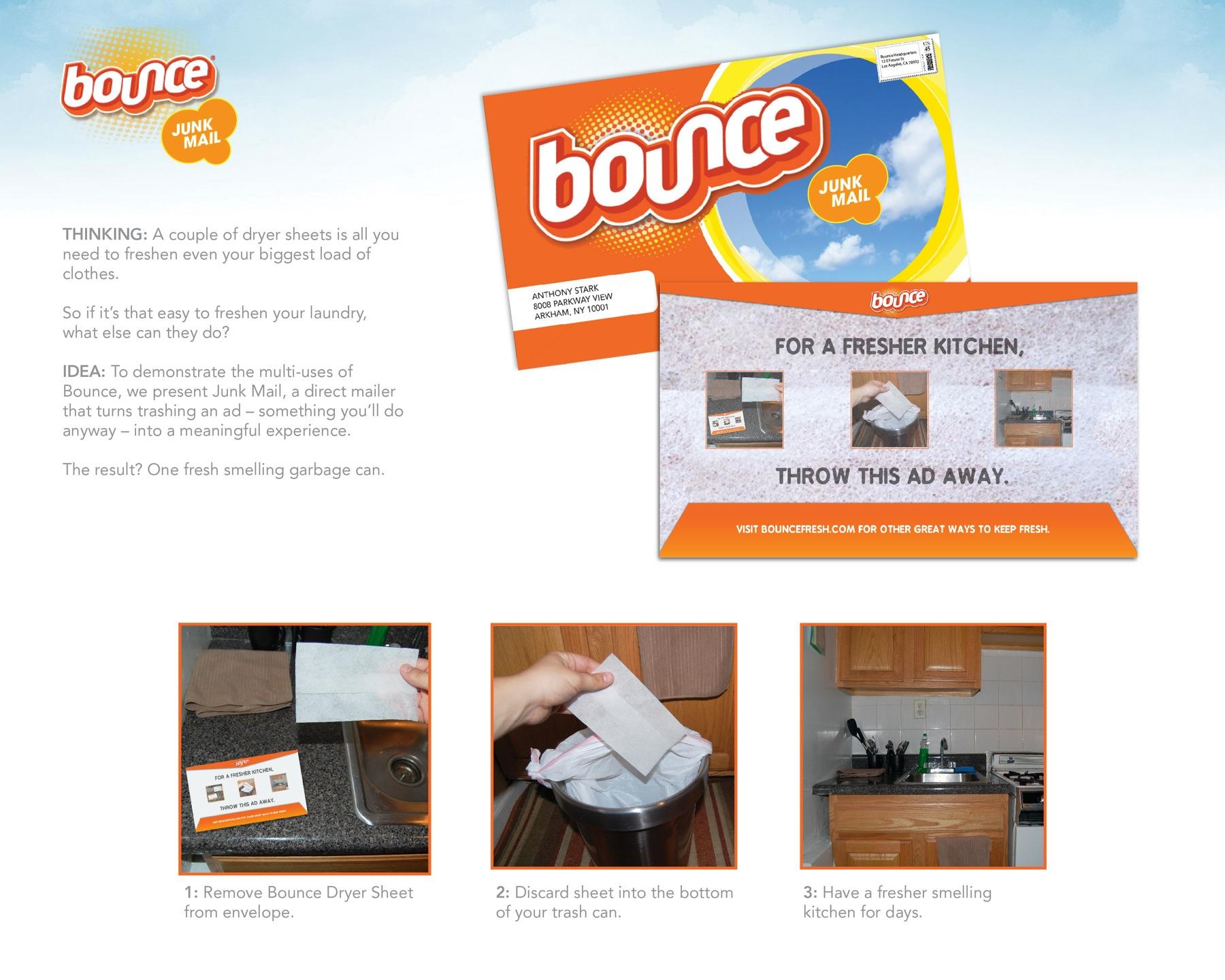 Bounce Direct Ad -  Junk Mail
