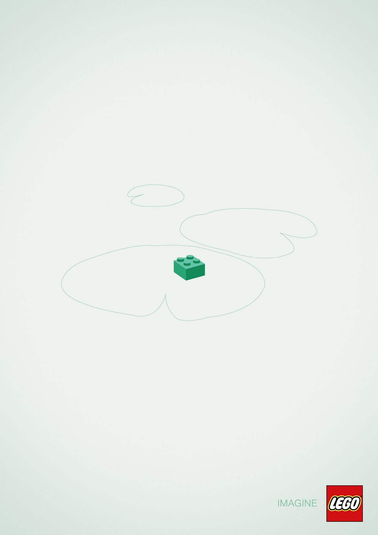 Lego Print Ad -  Frog
