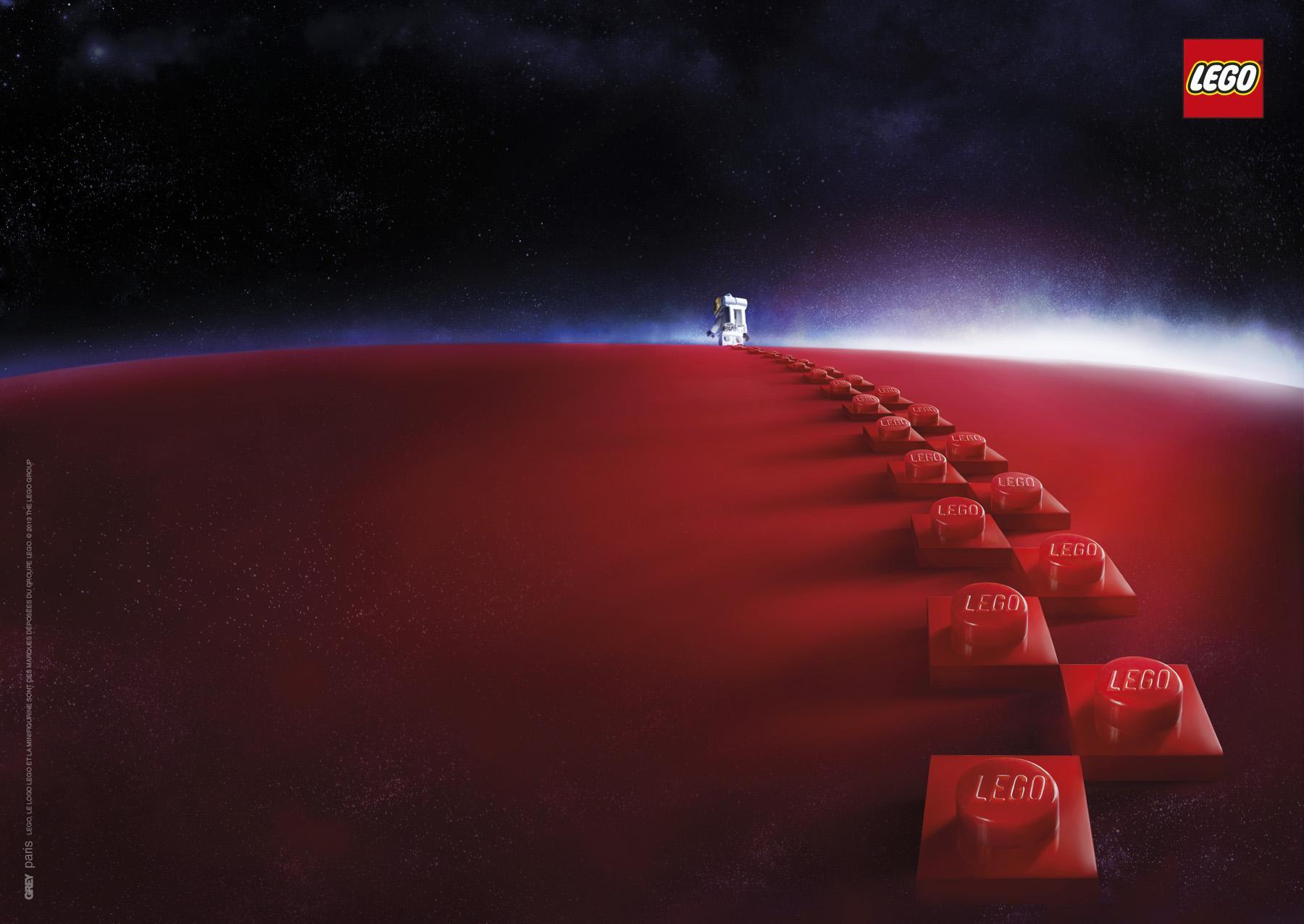 Lego Print Ad -  Mars