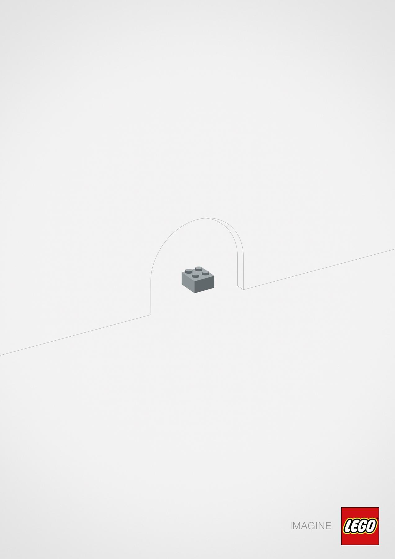 Lego Print Ad -  Mouse