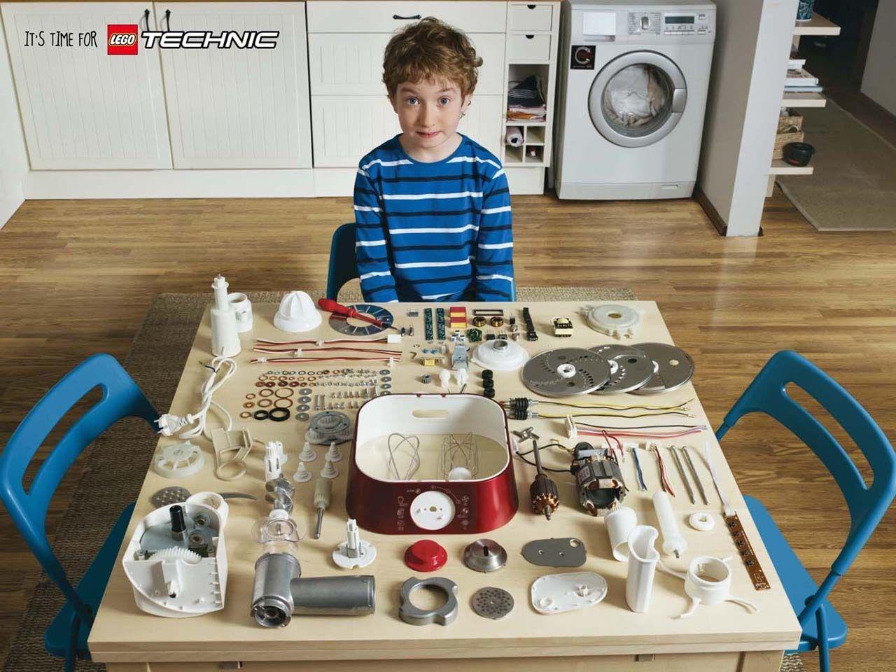 Lego Print Ad -  Kitchen