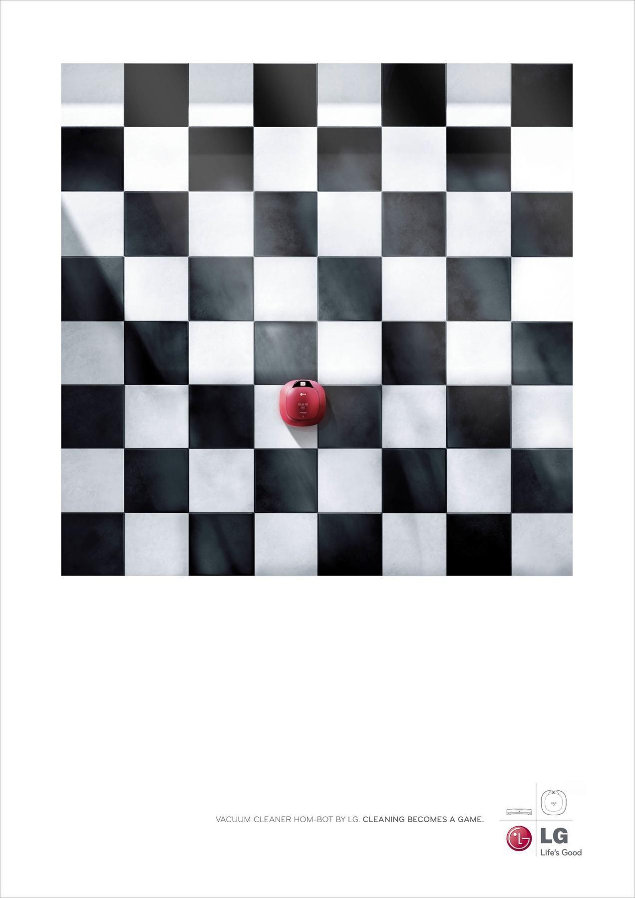 LG Print Ad -  Chess