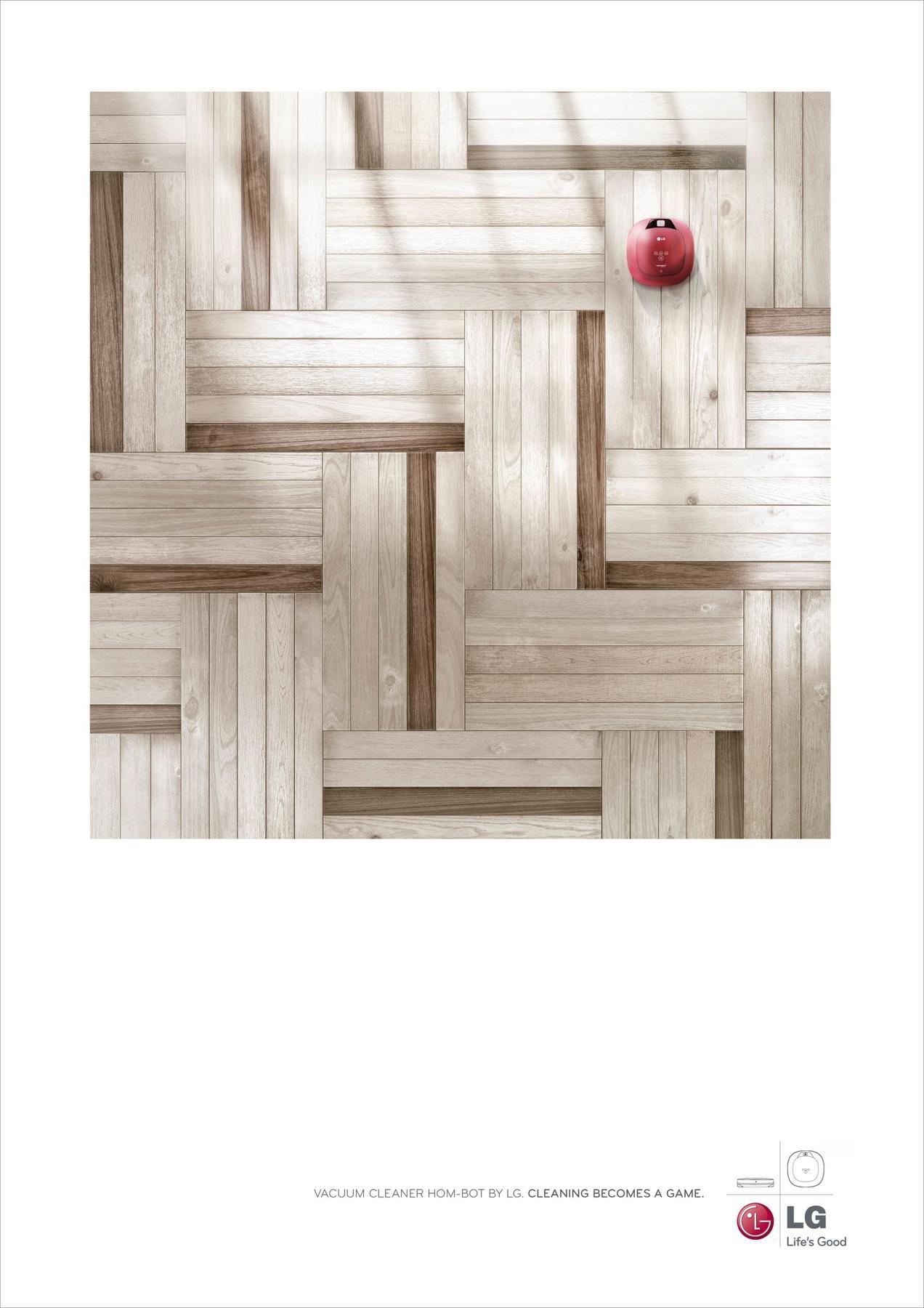 LG Print Ad -  Maze