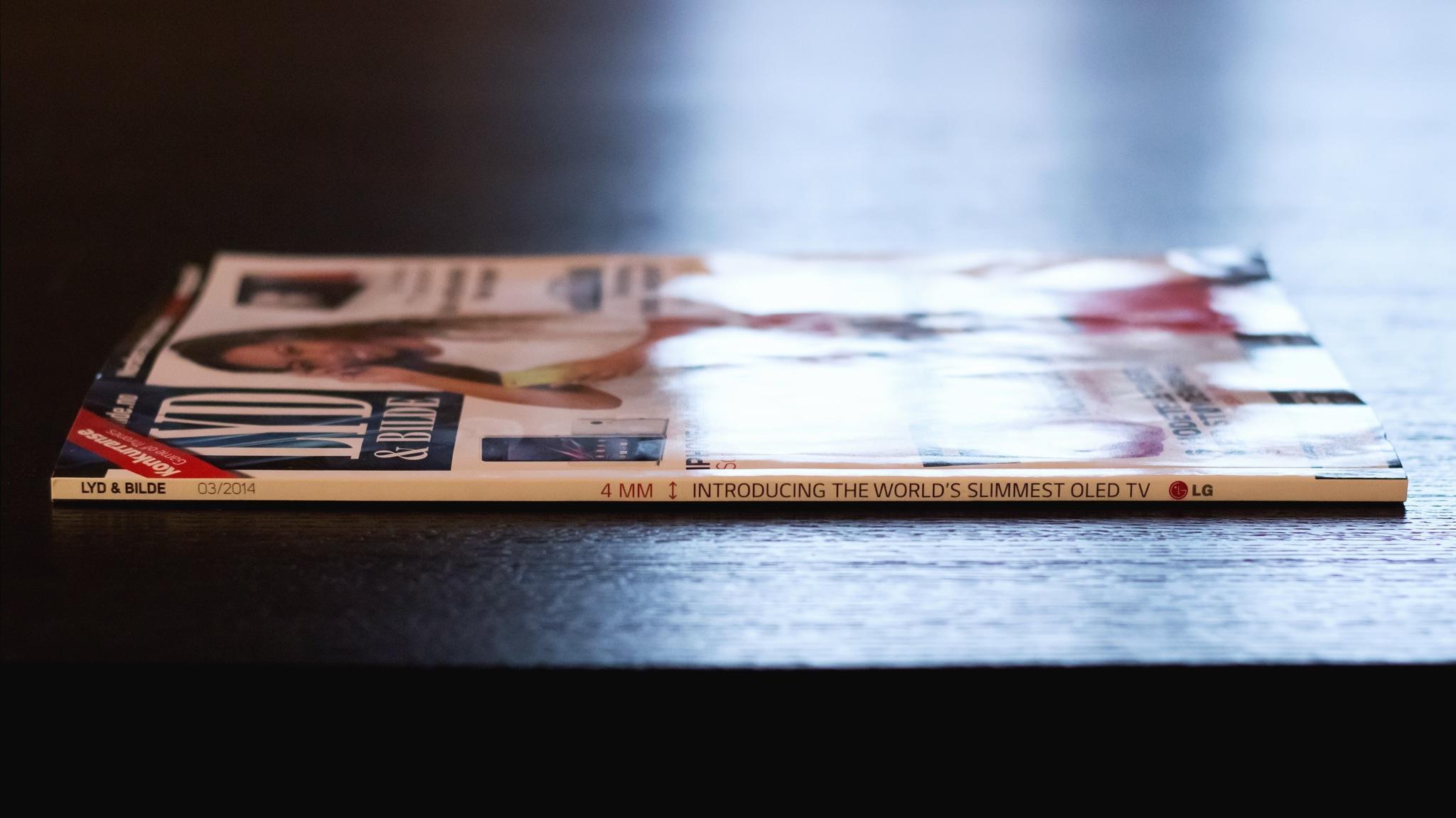 LG Print Ad -  Thin