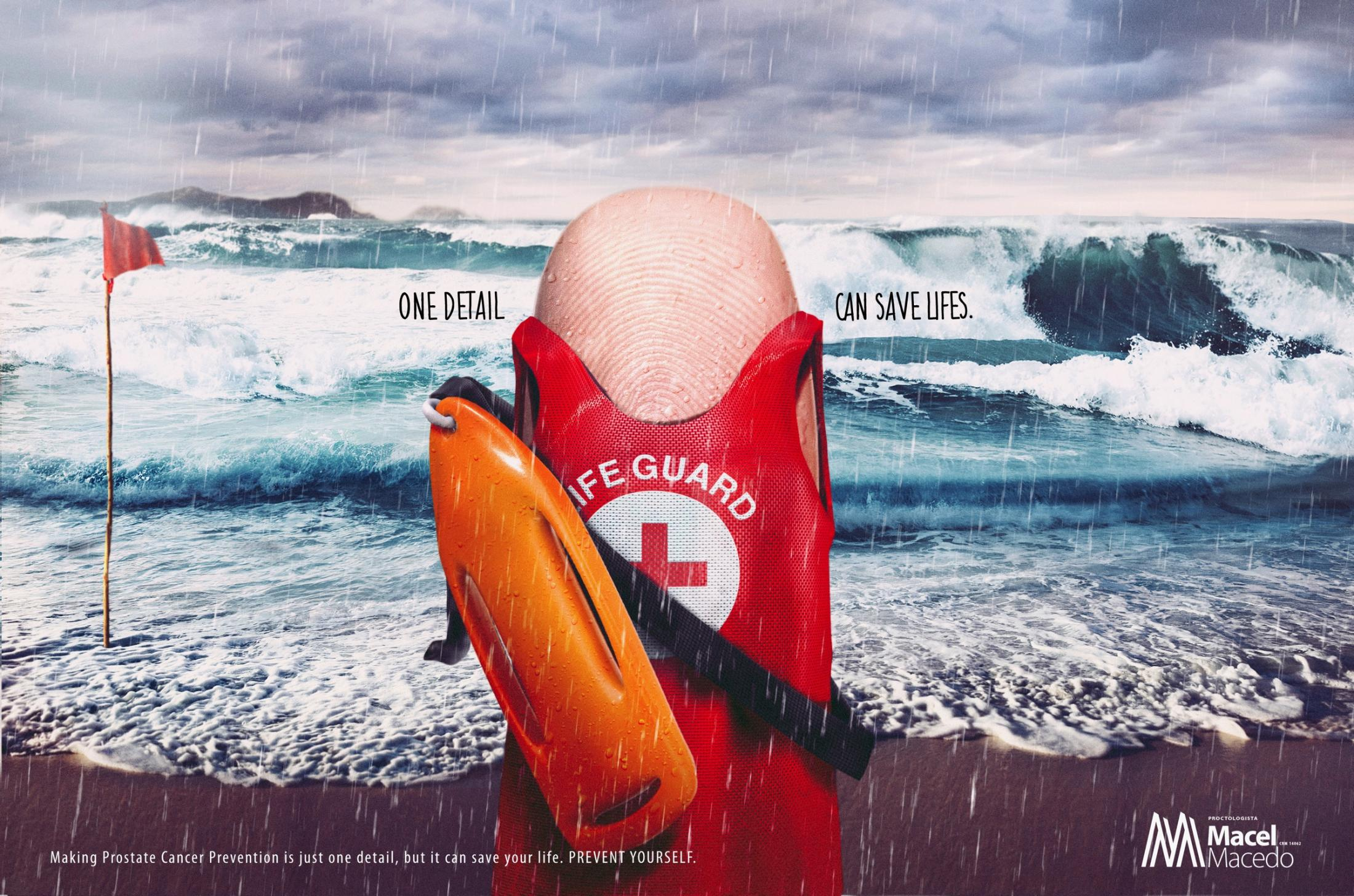 Doctor Macel Macedo Print Ad - Lifeguard