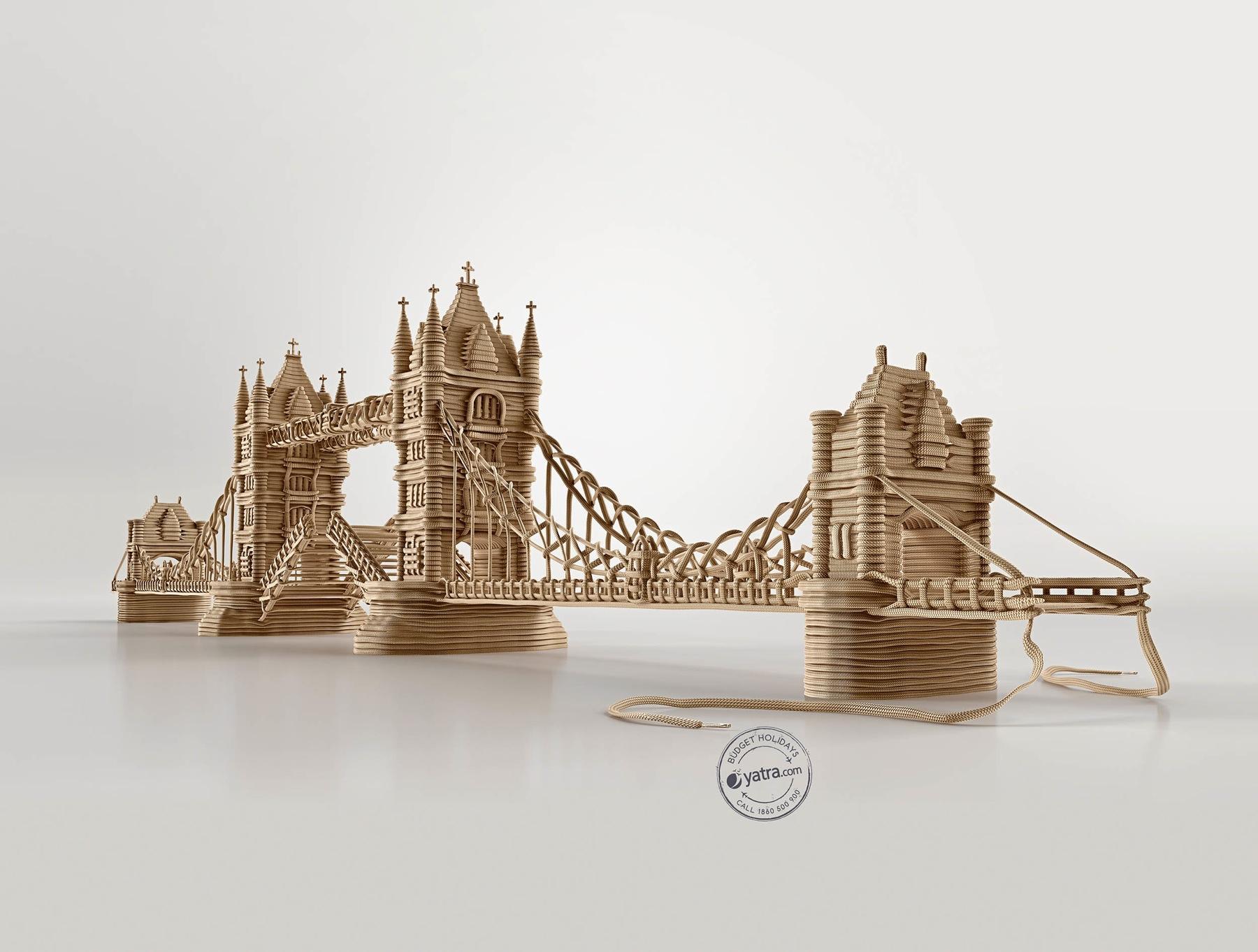 Yatra Print Ad -  London