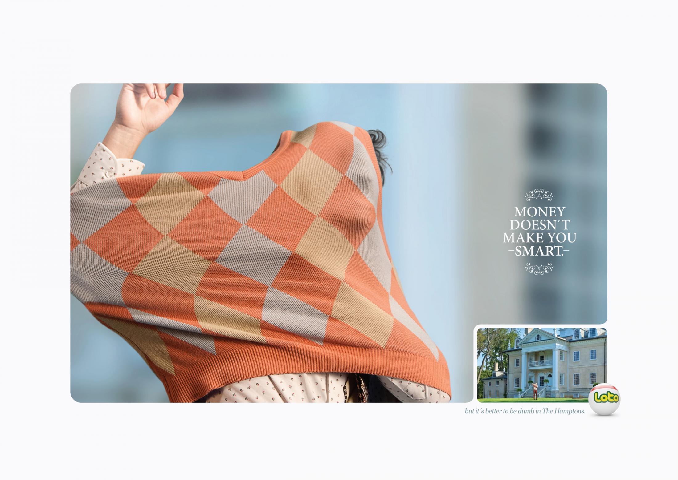 Loto Print Ad - Mansion