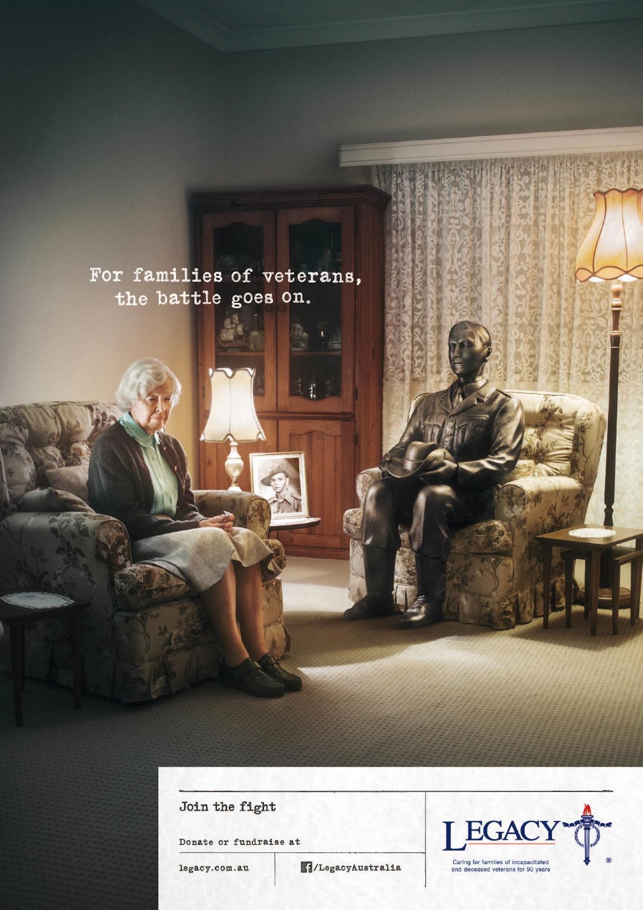 Legacy Australia Print Ad -  Lounge
