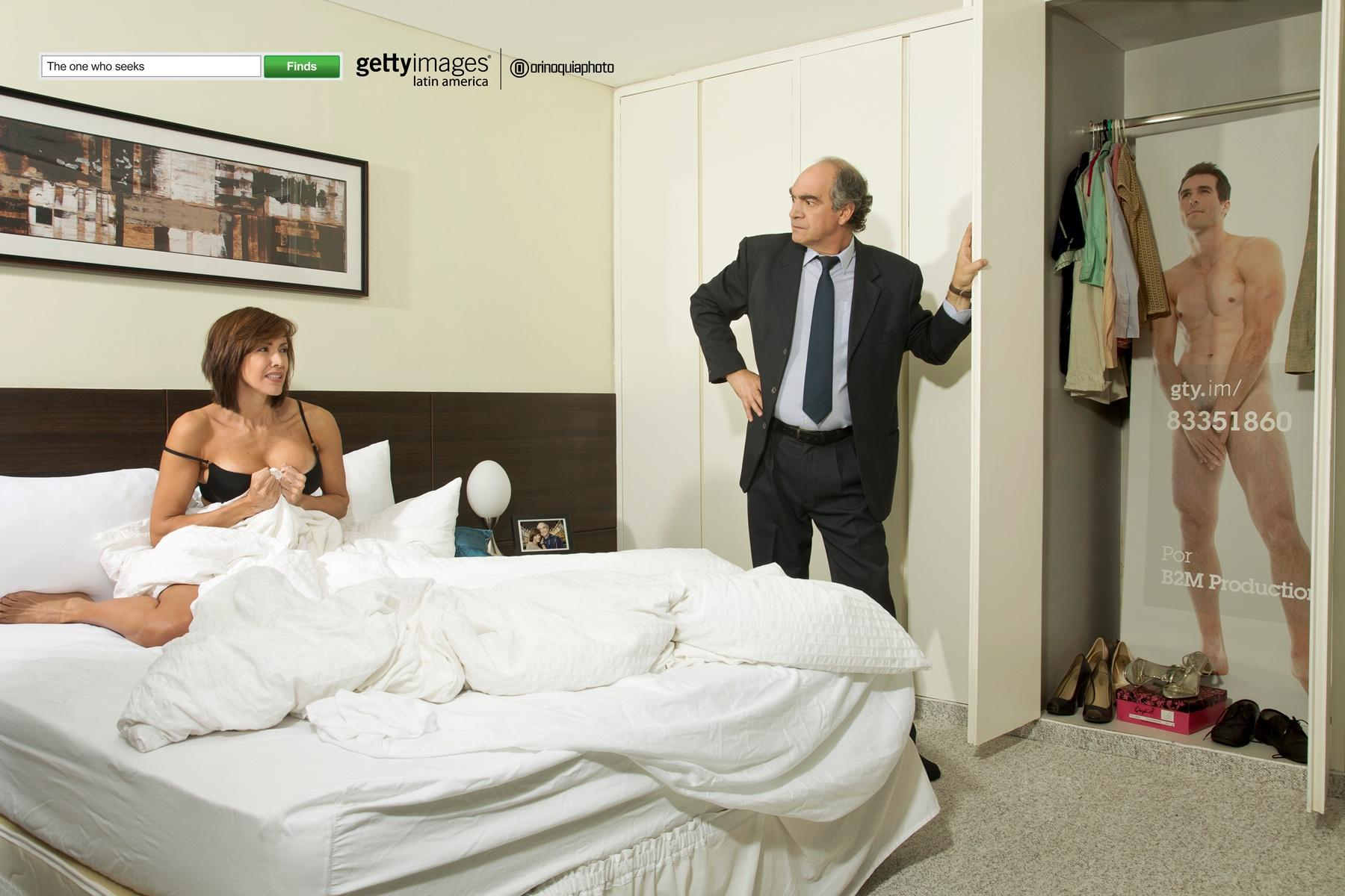 Getty Images Print Ad -  Finders, Lovers