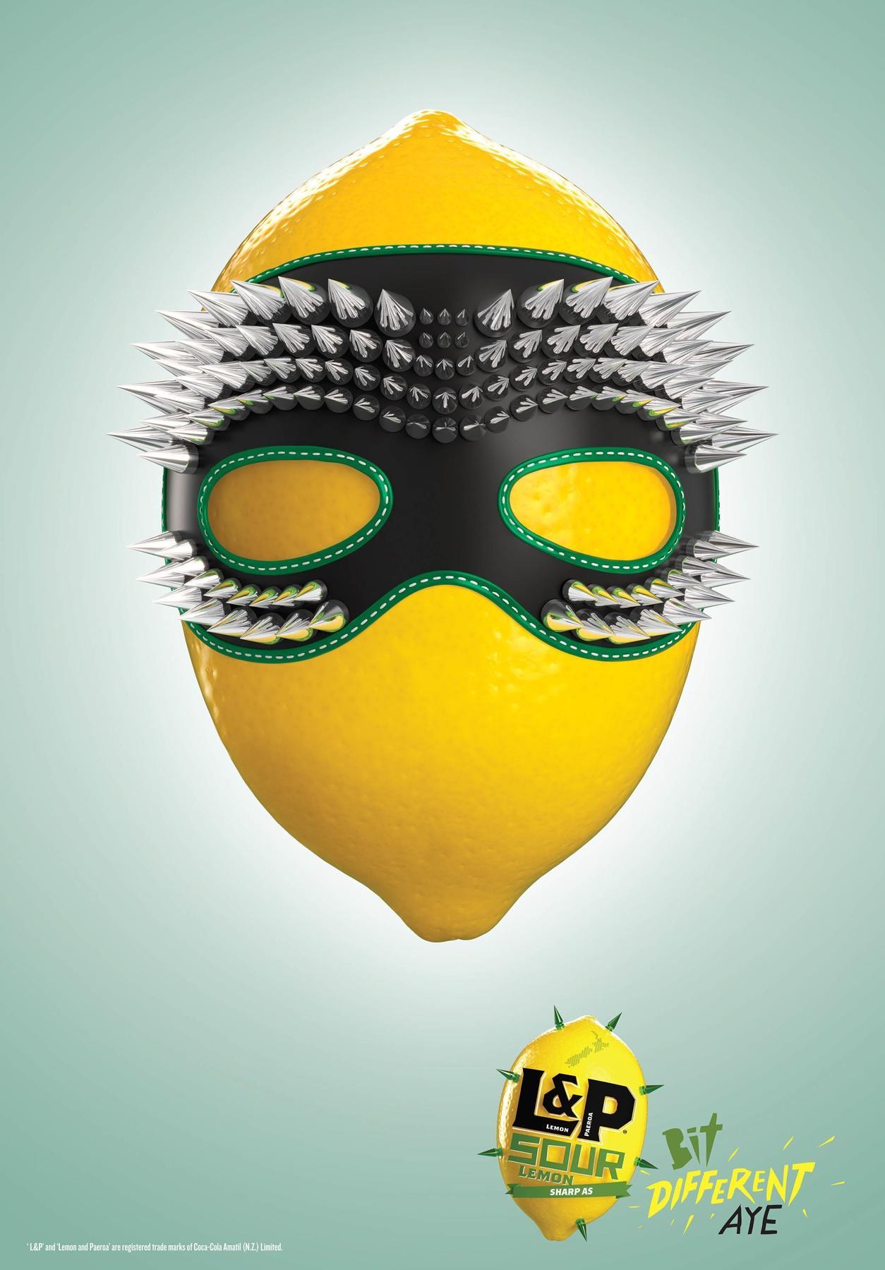 L&P Sour Print Ad -  Mask