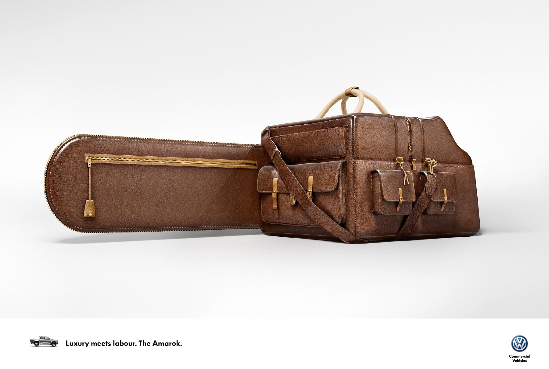 Volkswagen Print Ad -  Luxury meets Labour, 1