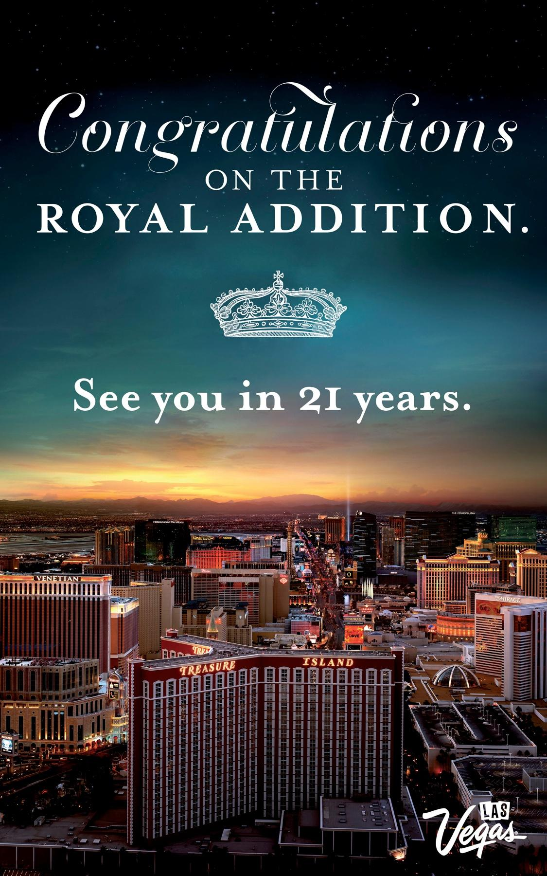 Las Vegas Convention and Visitors Authority Outdoor Ad -  Royal addition