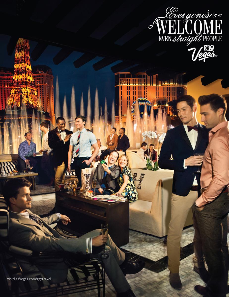 Las Vegas Convention and Visitors Authority Print Ad -  Everyone is welcome, 1