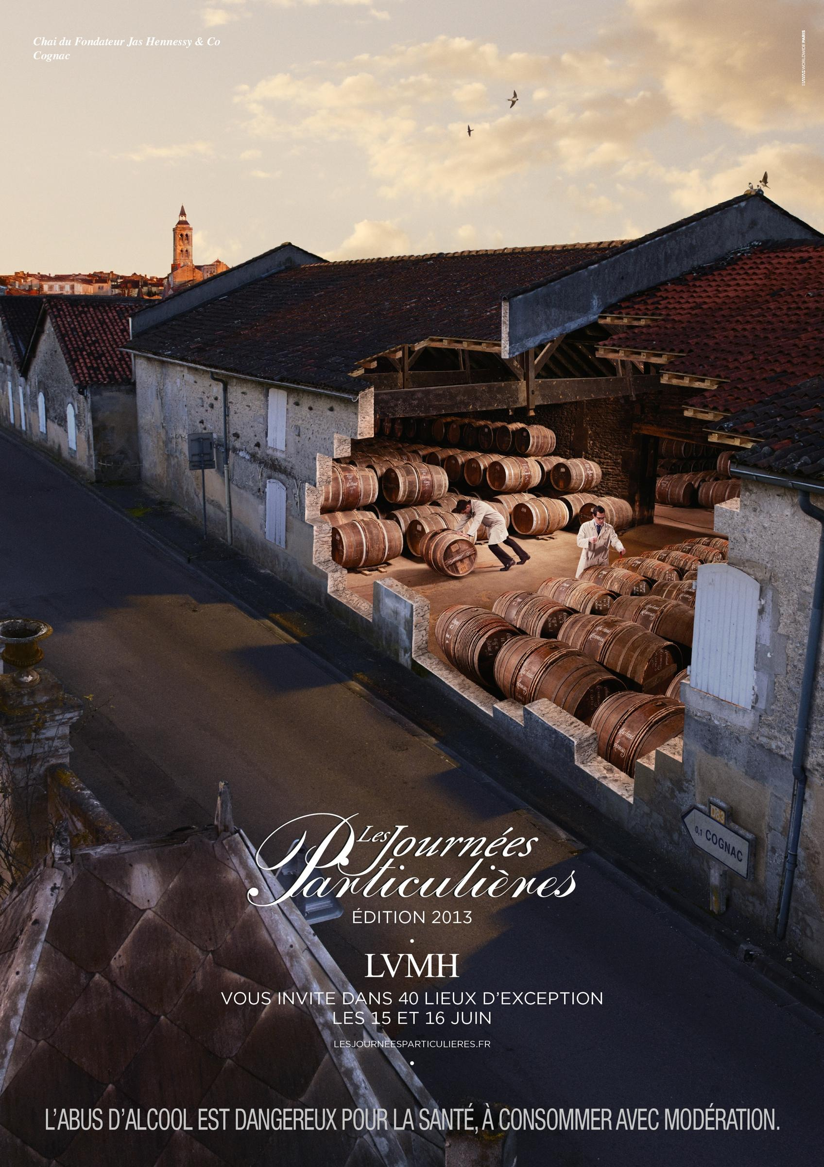 LVMH Print Ad -  Special Days, Hennessy