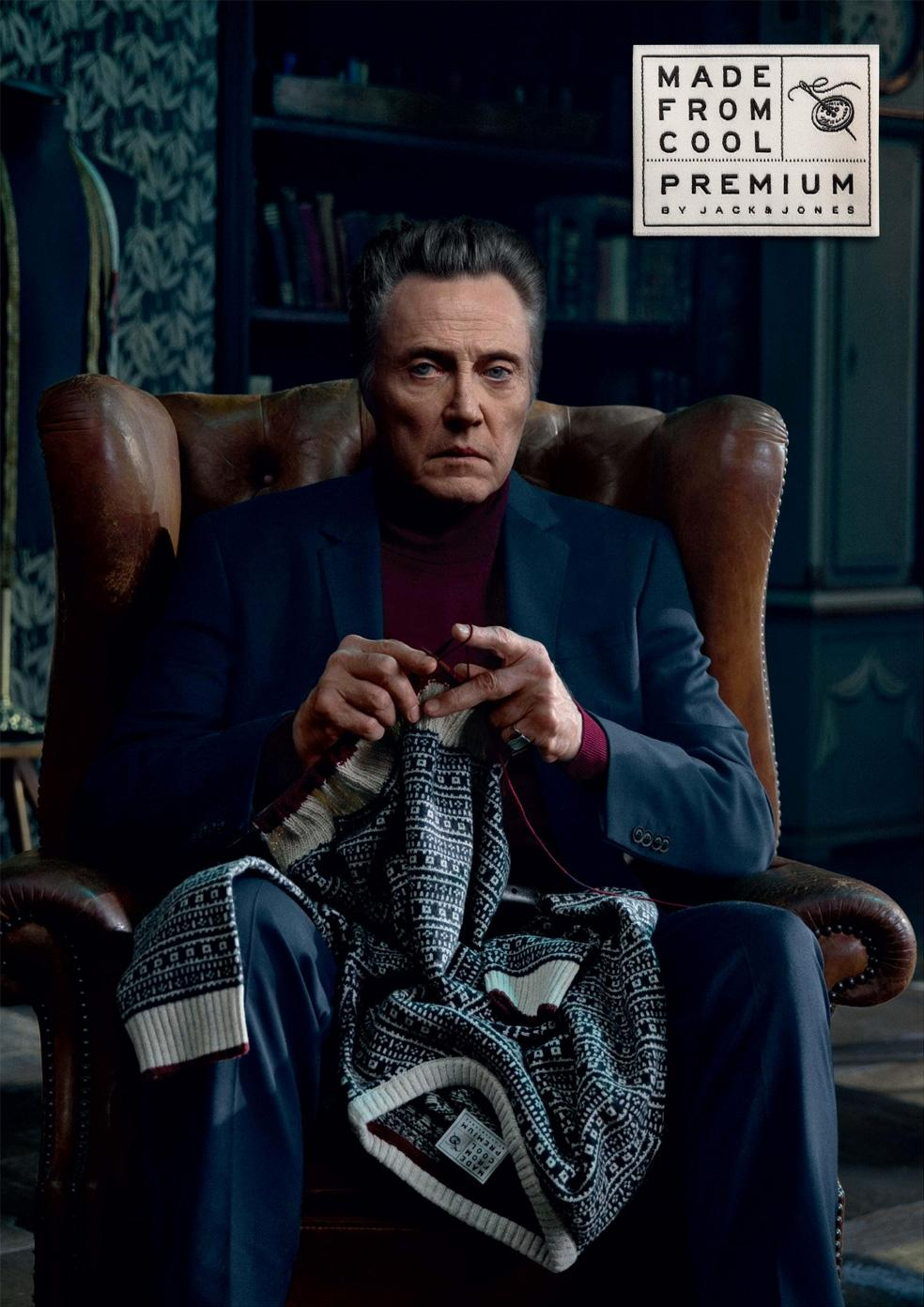 Jack & Jones Outdoor Ad -  Knit with wit