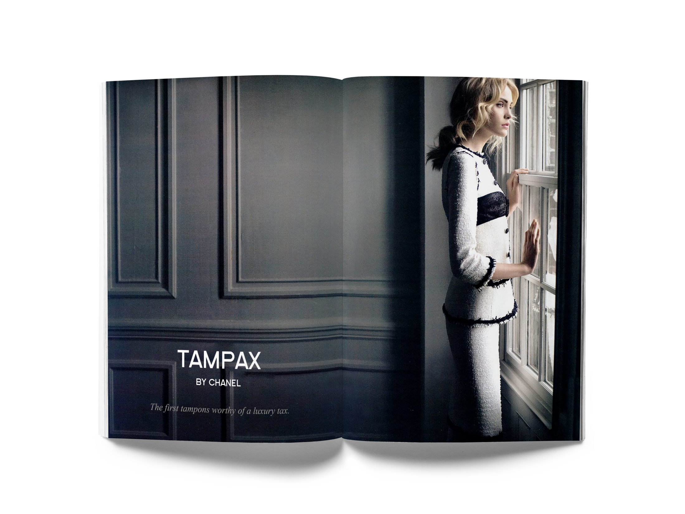Tampax Integrated Ad - Necessary Luxuries