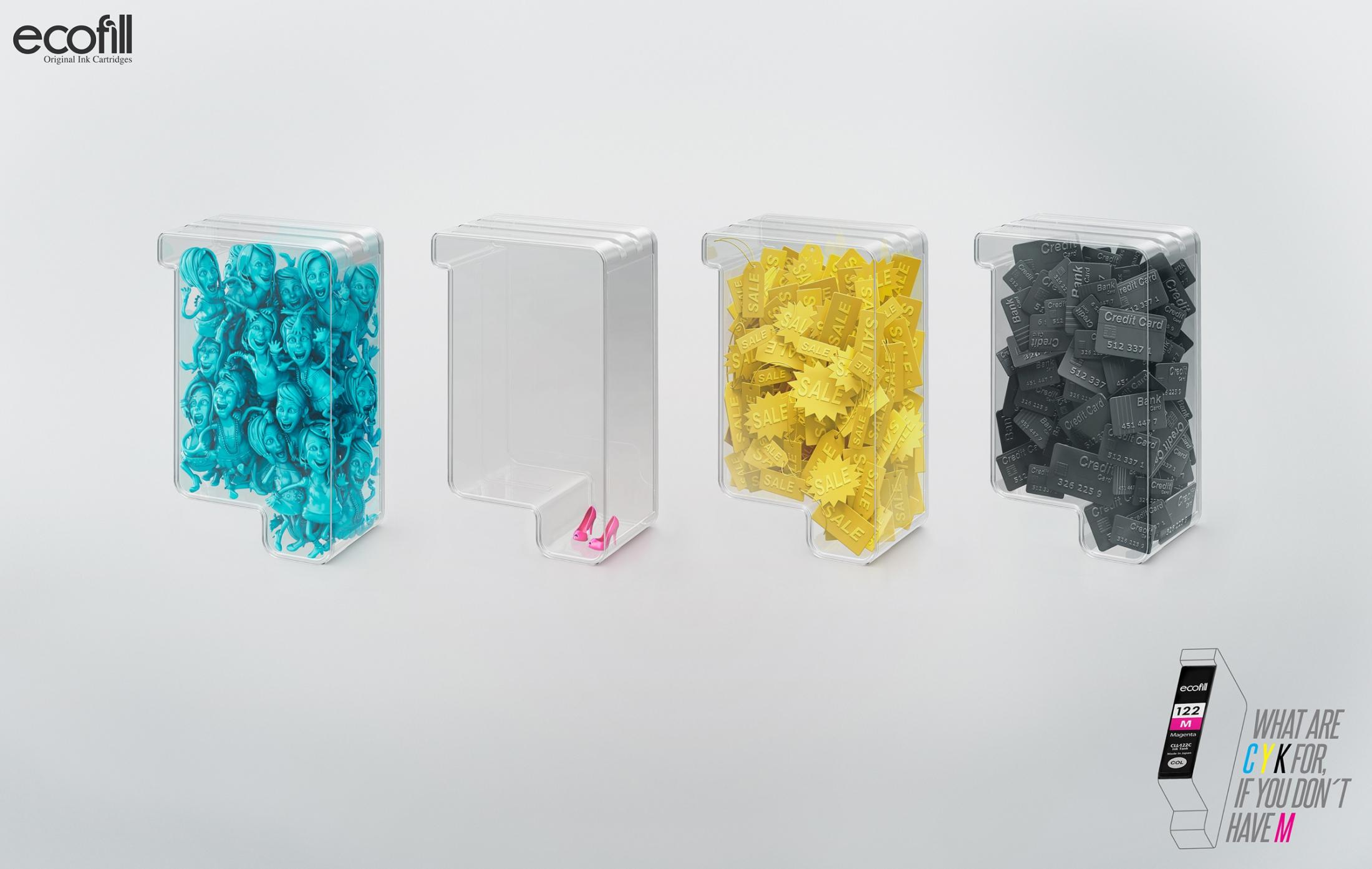 Ecofill Print Ad -  Sale