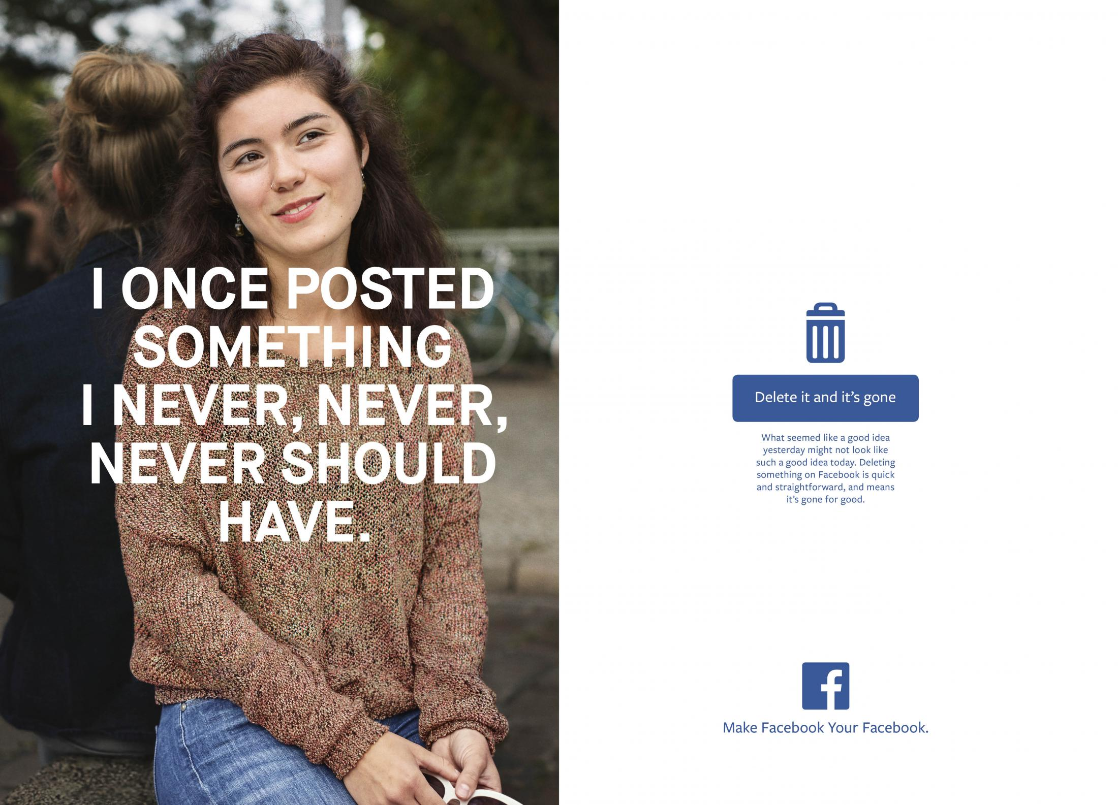 Facebook Print Ad - Delete