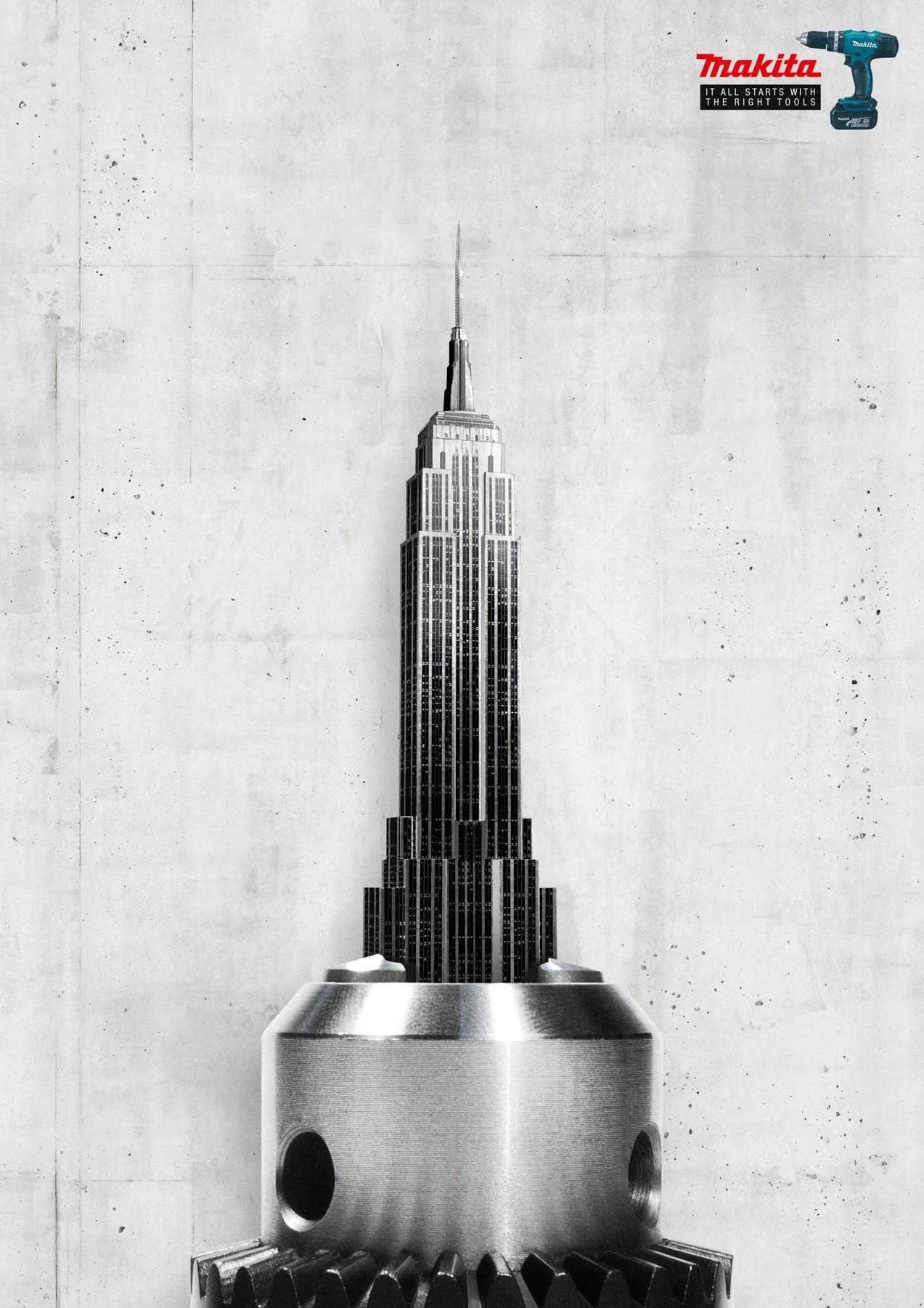 Makita Print Ad -  Empire State Building