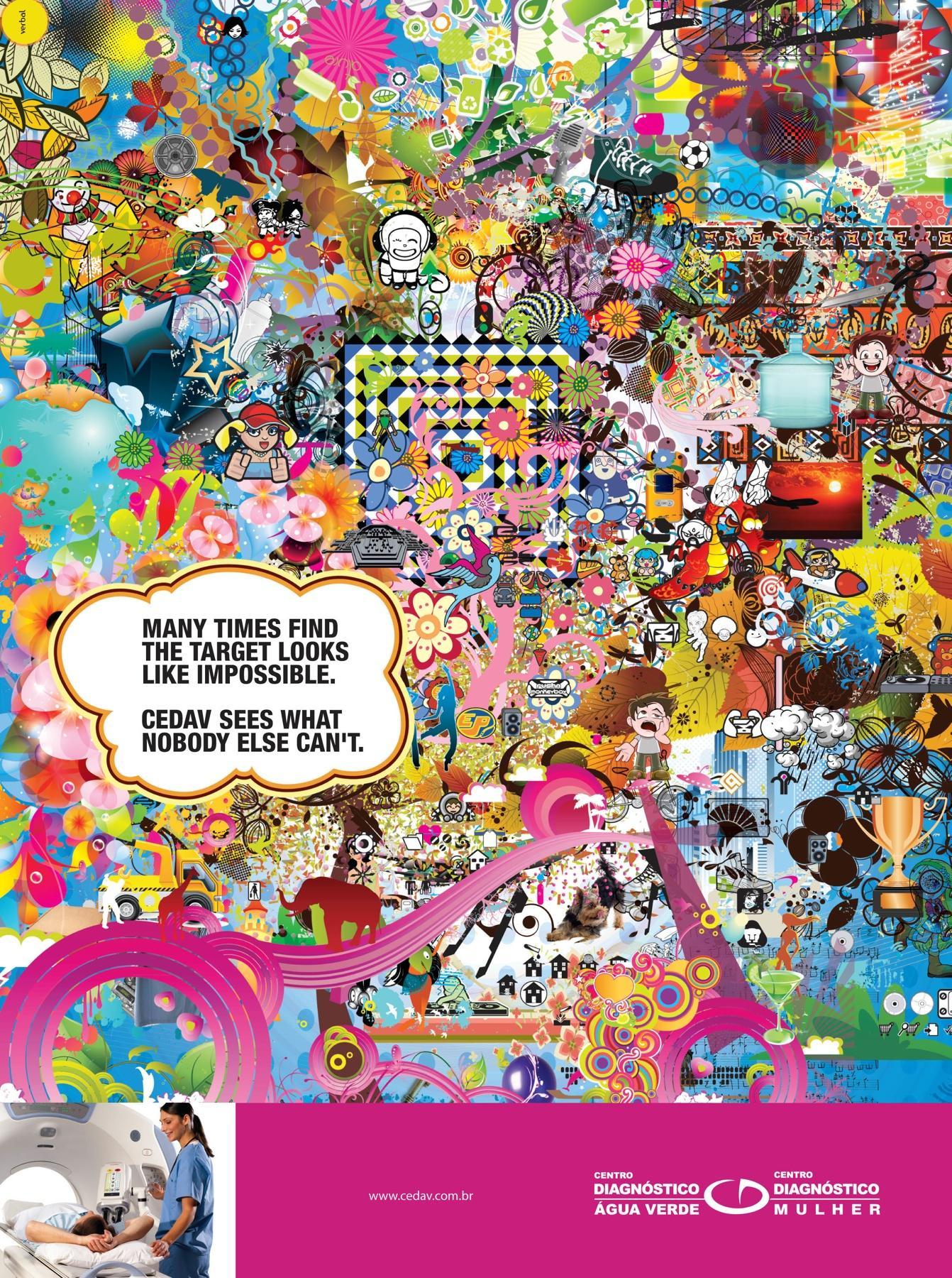CEDAV Print Ad -  Many