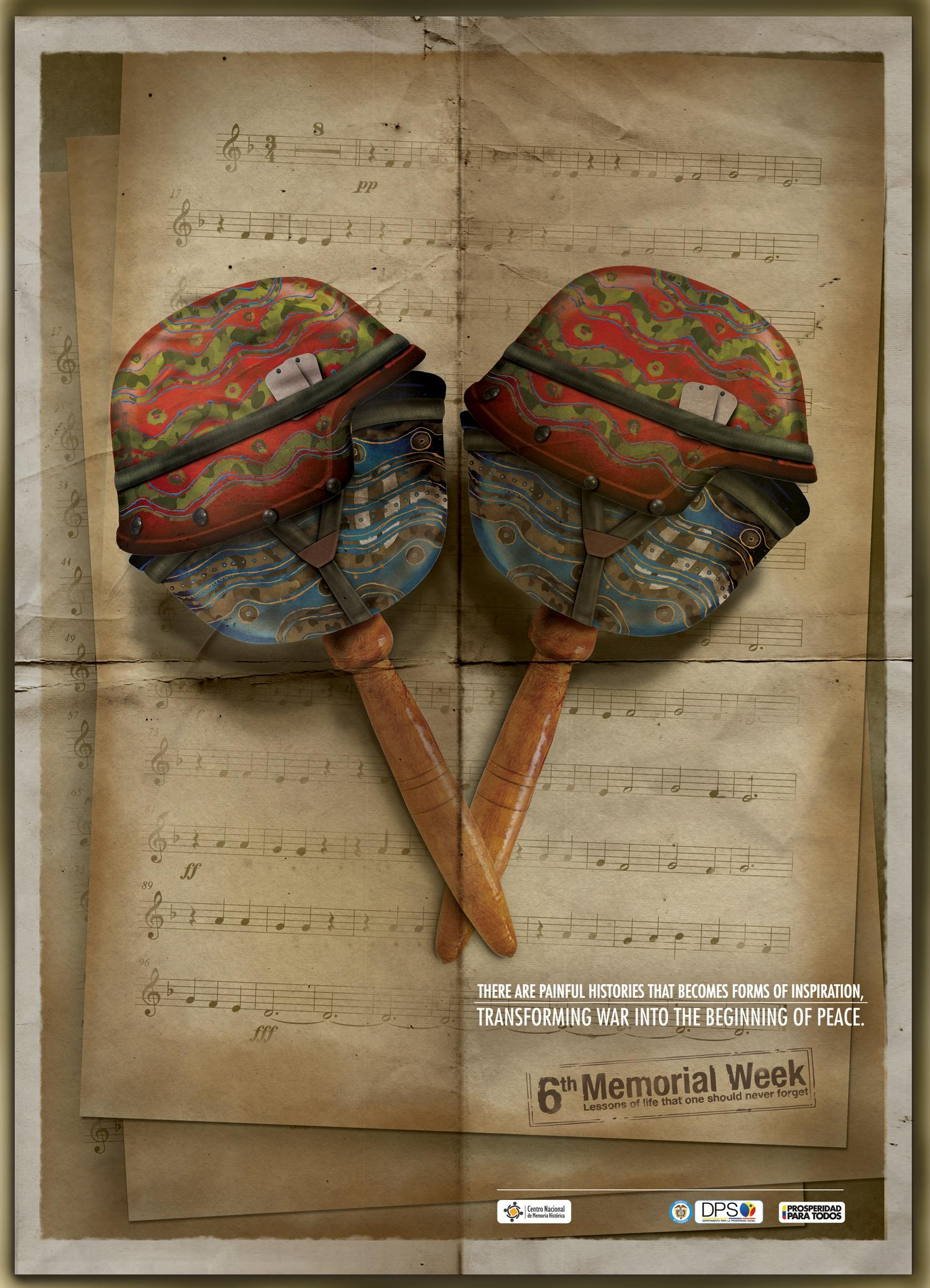 National Center of Historical Memory Print Ad -  Maracas