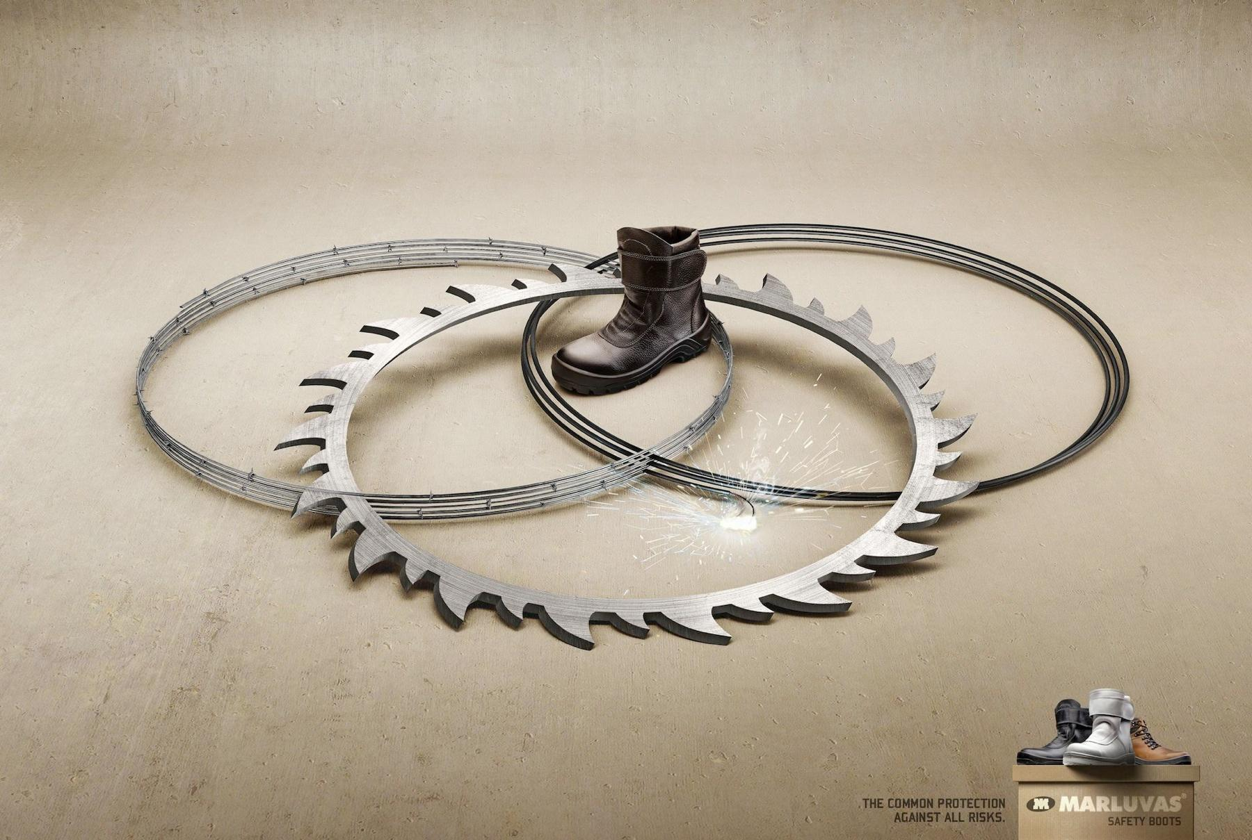 Marluvas Safety Boots Print Ad -  Intersection