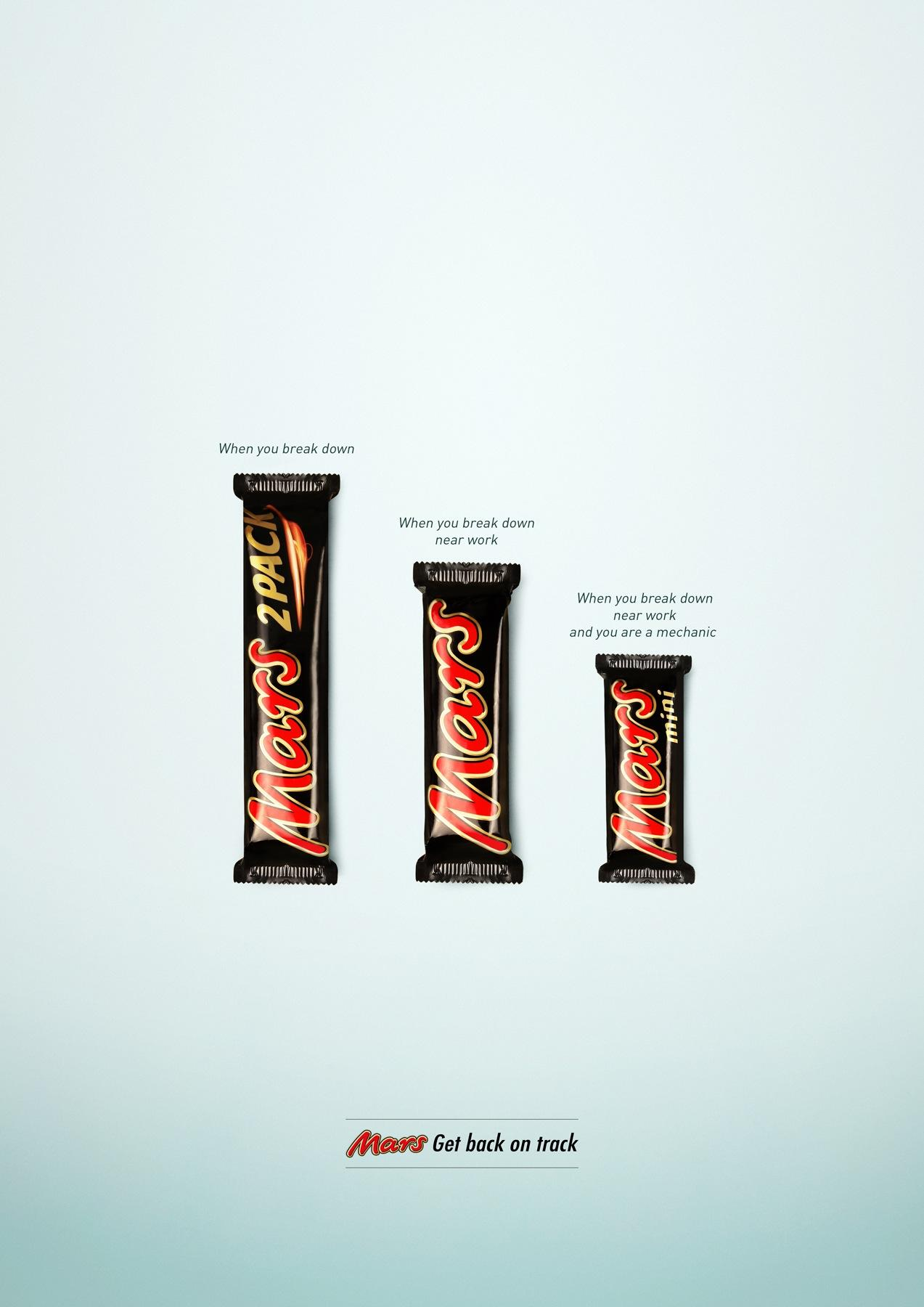 Mars Print Ad -  Breakdown