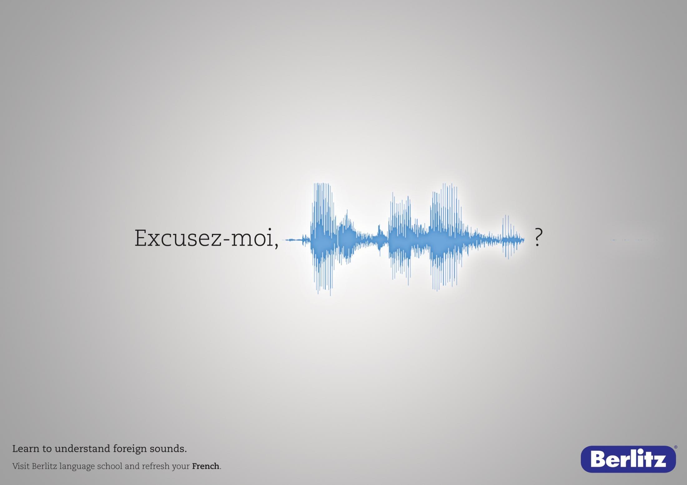 Berlitz Print Ad -  Foreign Sounds, 3
