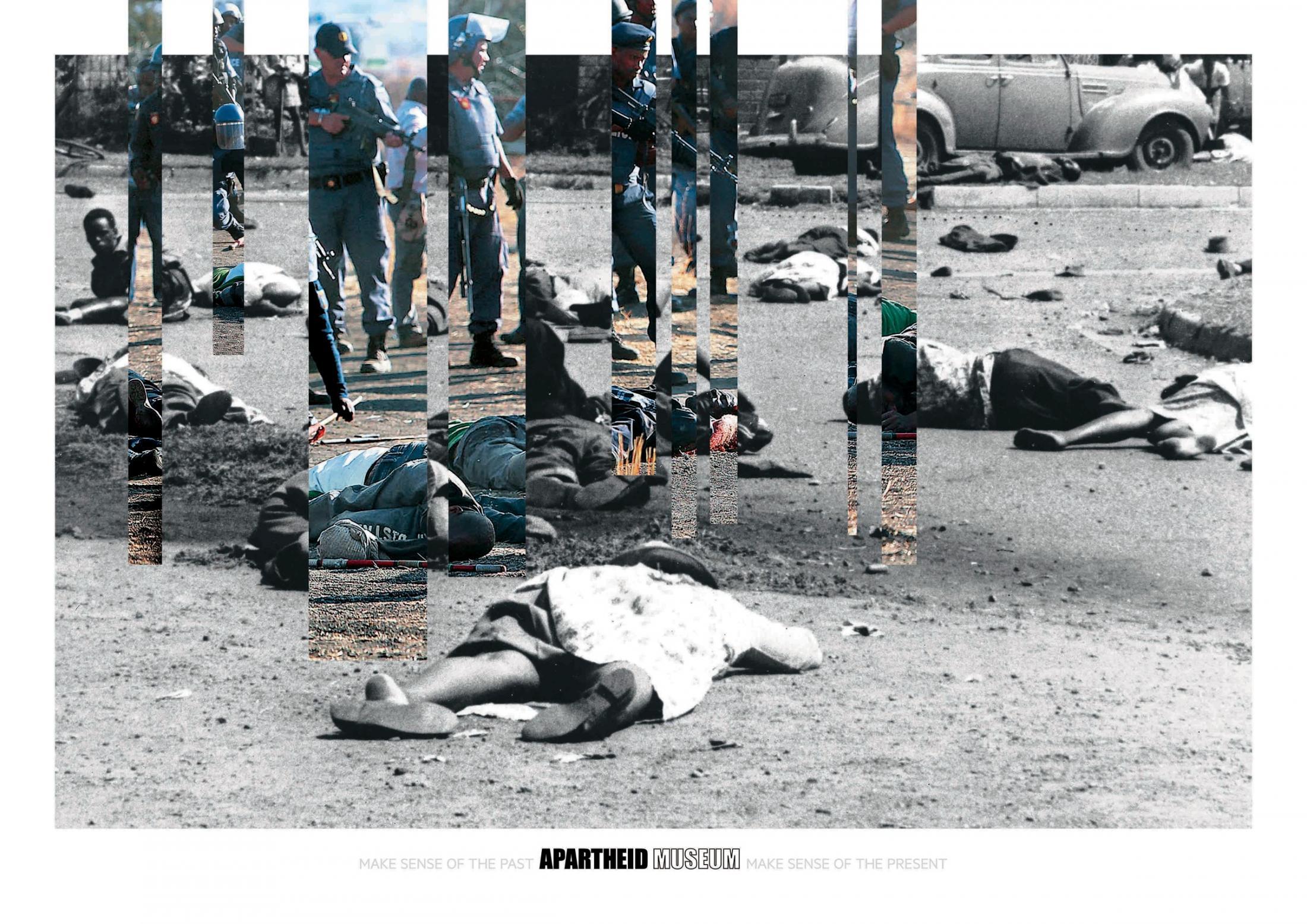 Apartheid Museum Print Ad -  Massacre