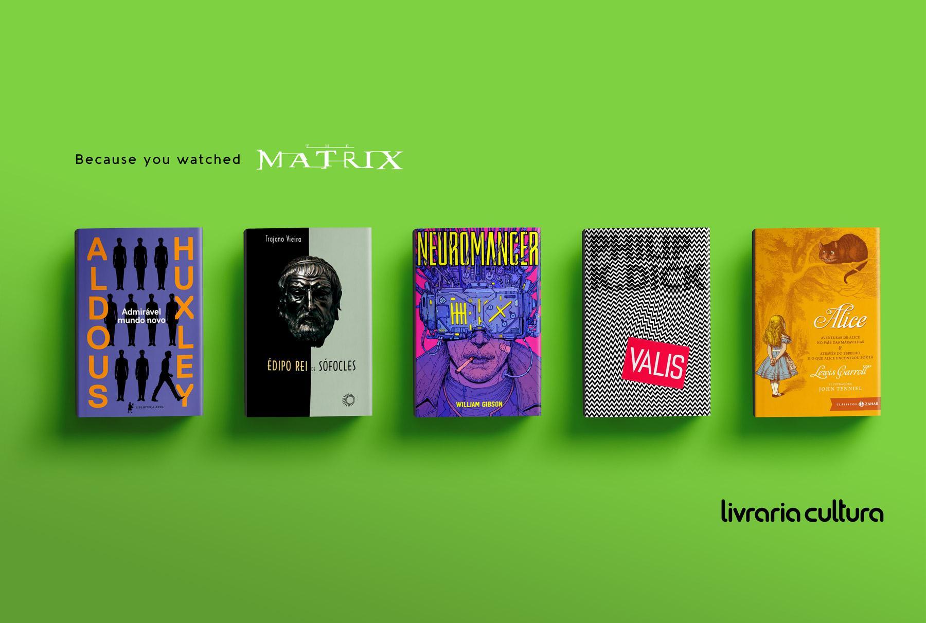 Livraria Cultura Print Ad - Matrix