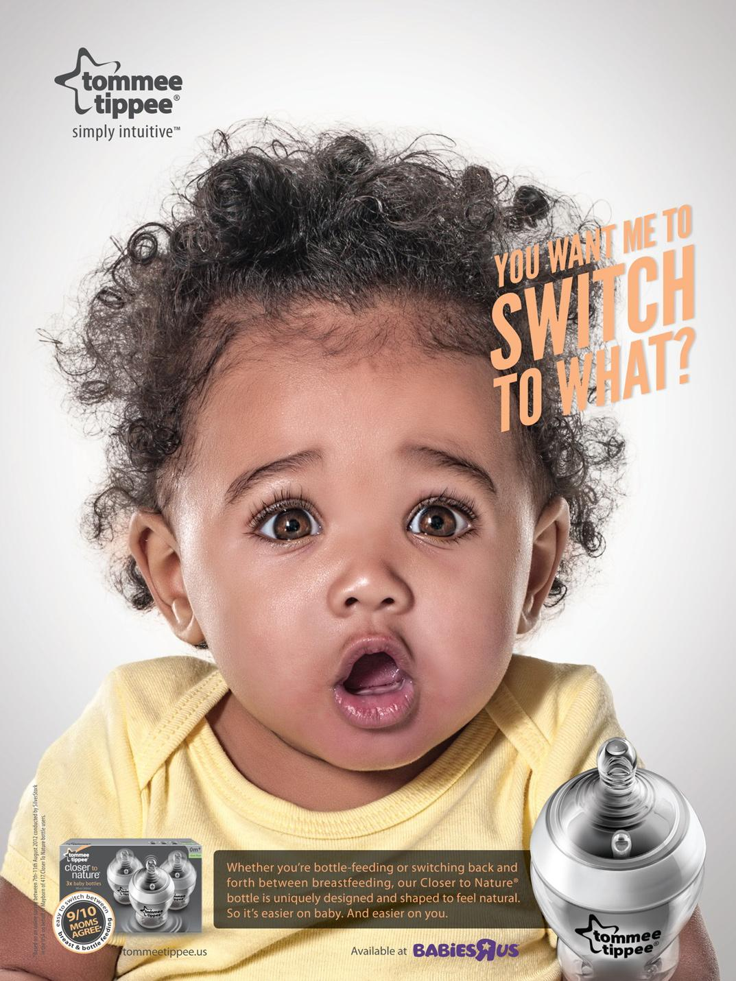 Tommee Tippee Print Ad -  Simply Intuitive, 3