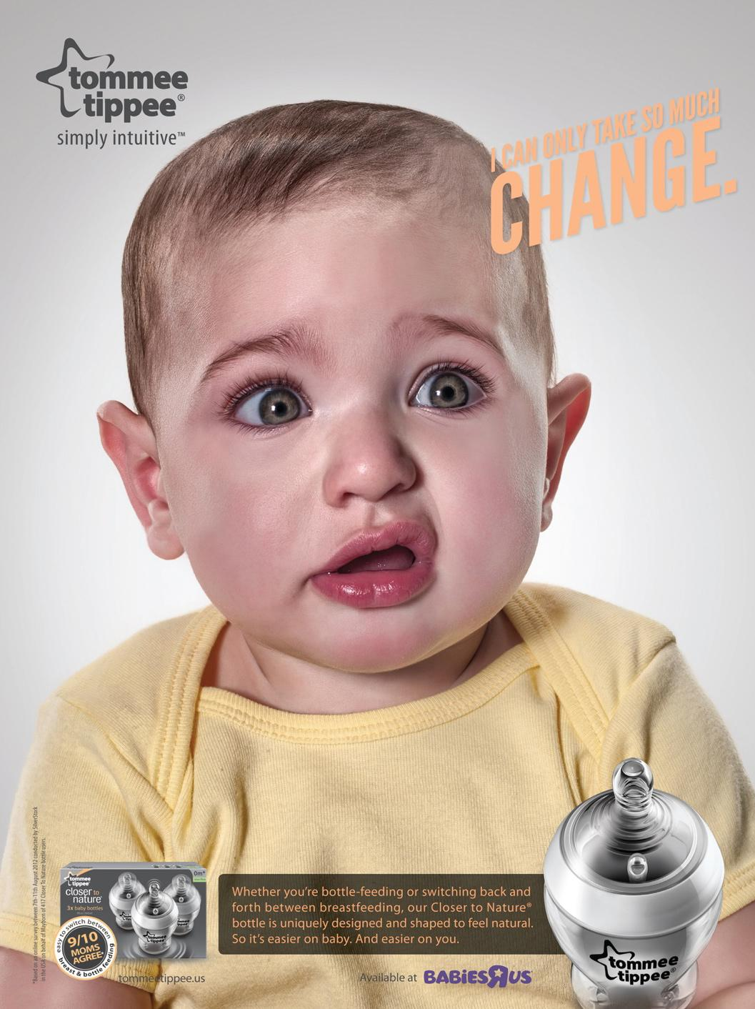 Tommee Tippee Print Ad -  Simply Intuitive, 2
