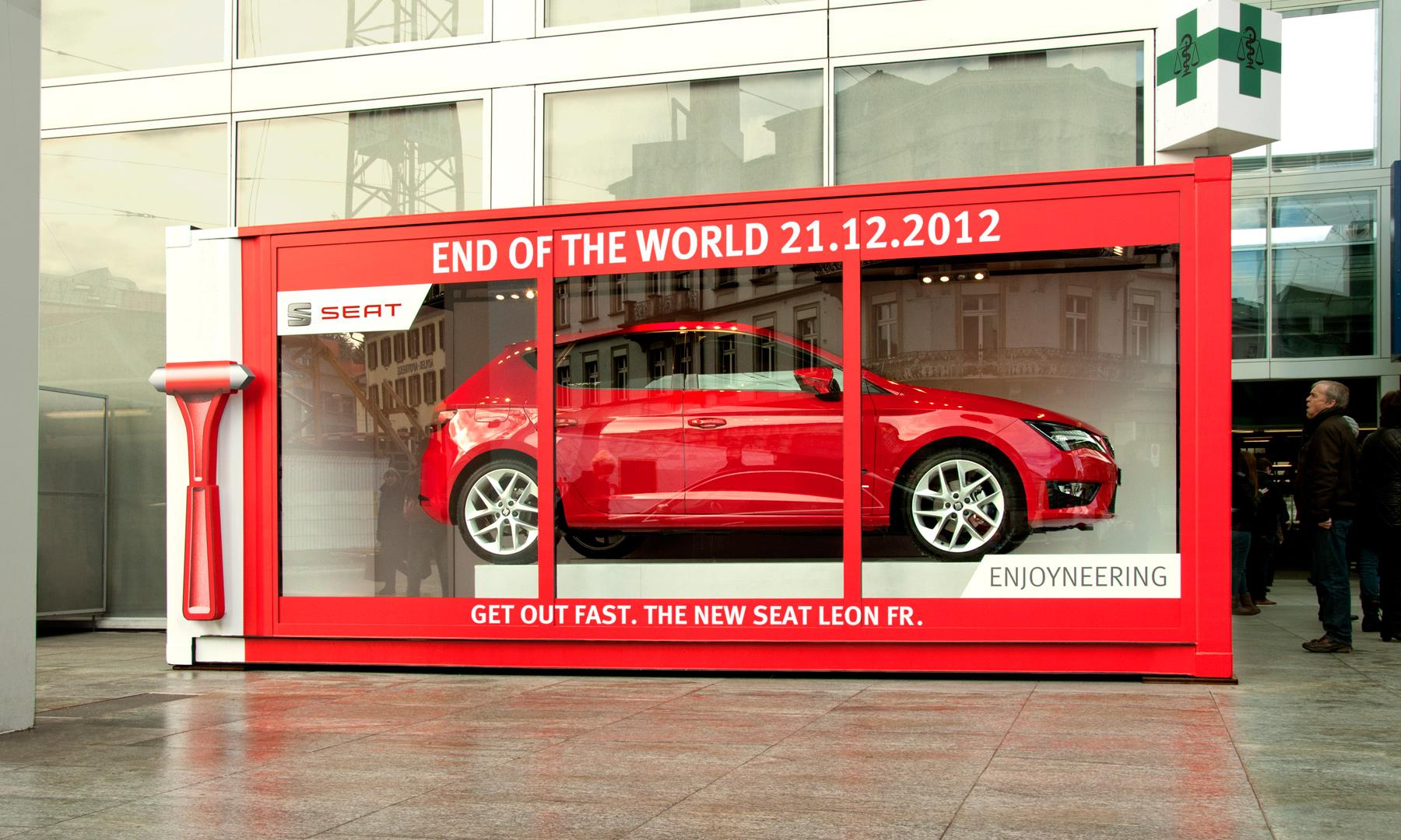 Seat Outdoor Ad -  End of the World
