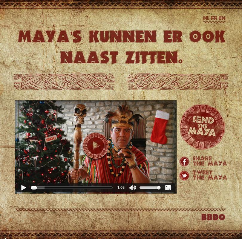 BBDO Digital Ad -  Mayans can be wrong as well!