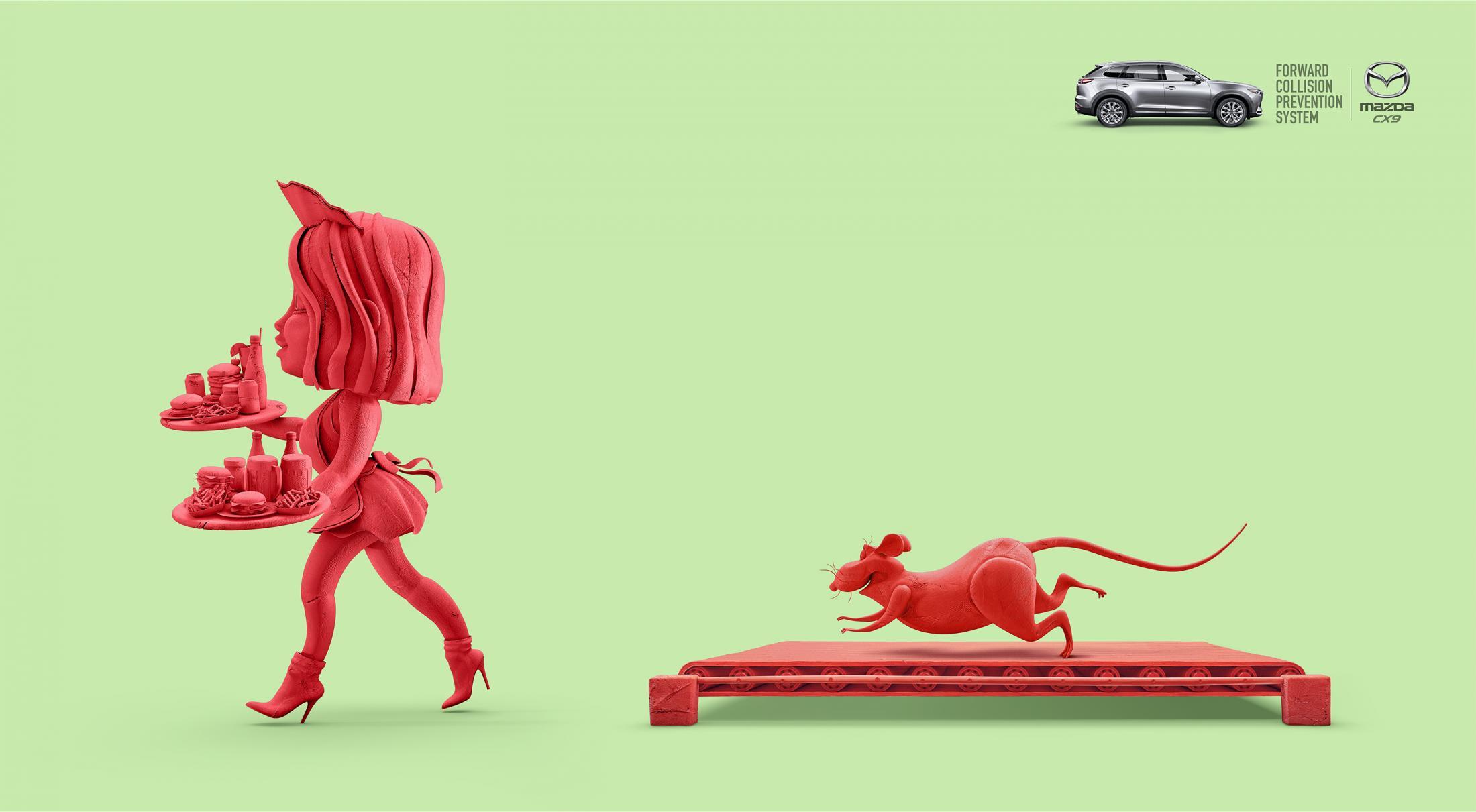 Mazda Print Ad - No More Chase, 4