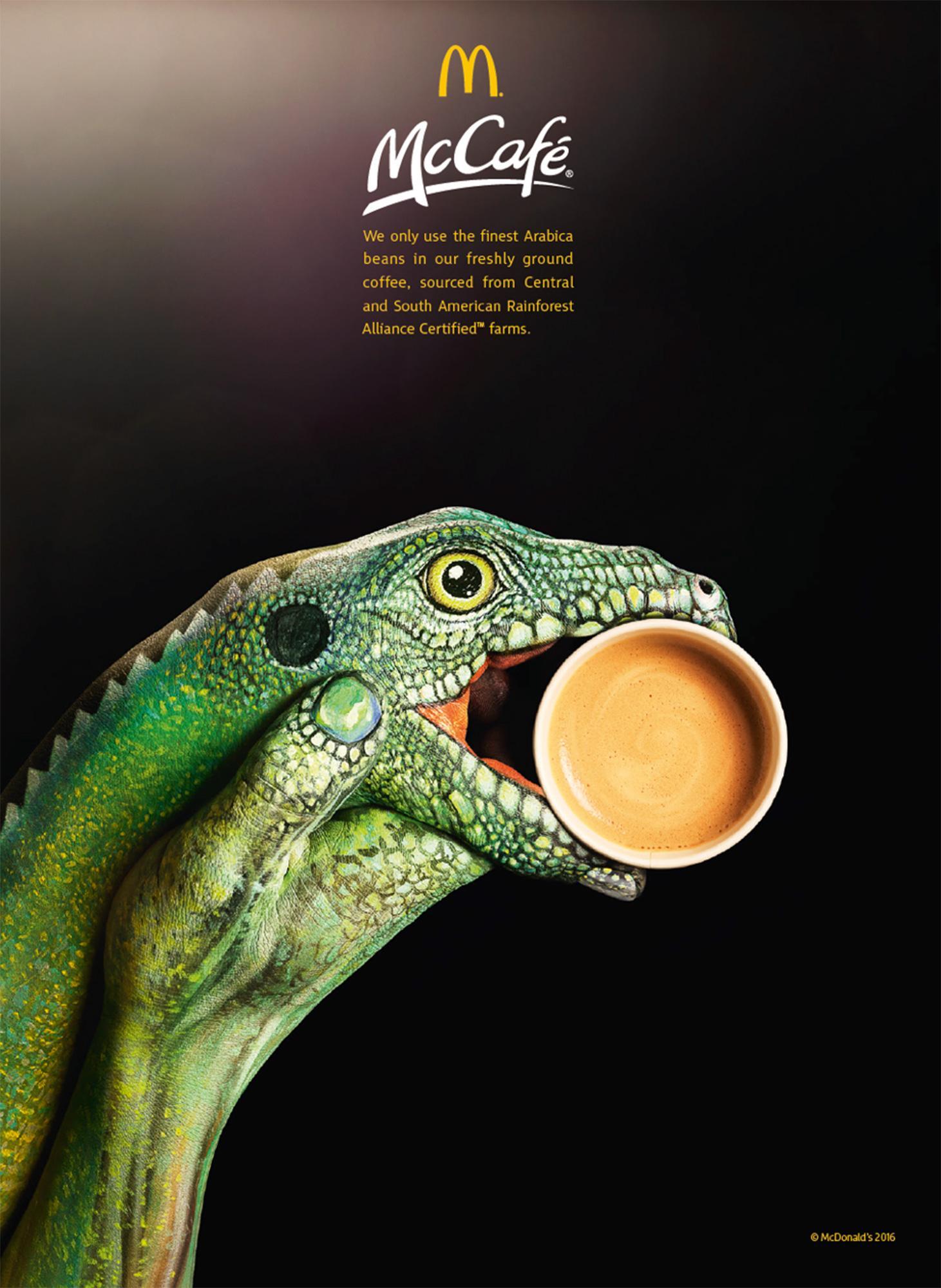 McDonald's Outdoor Ad - Iguana