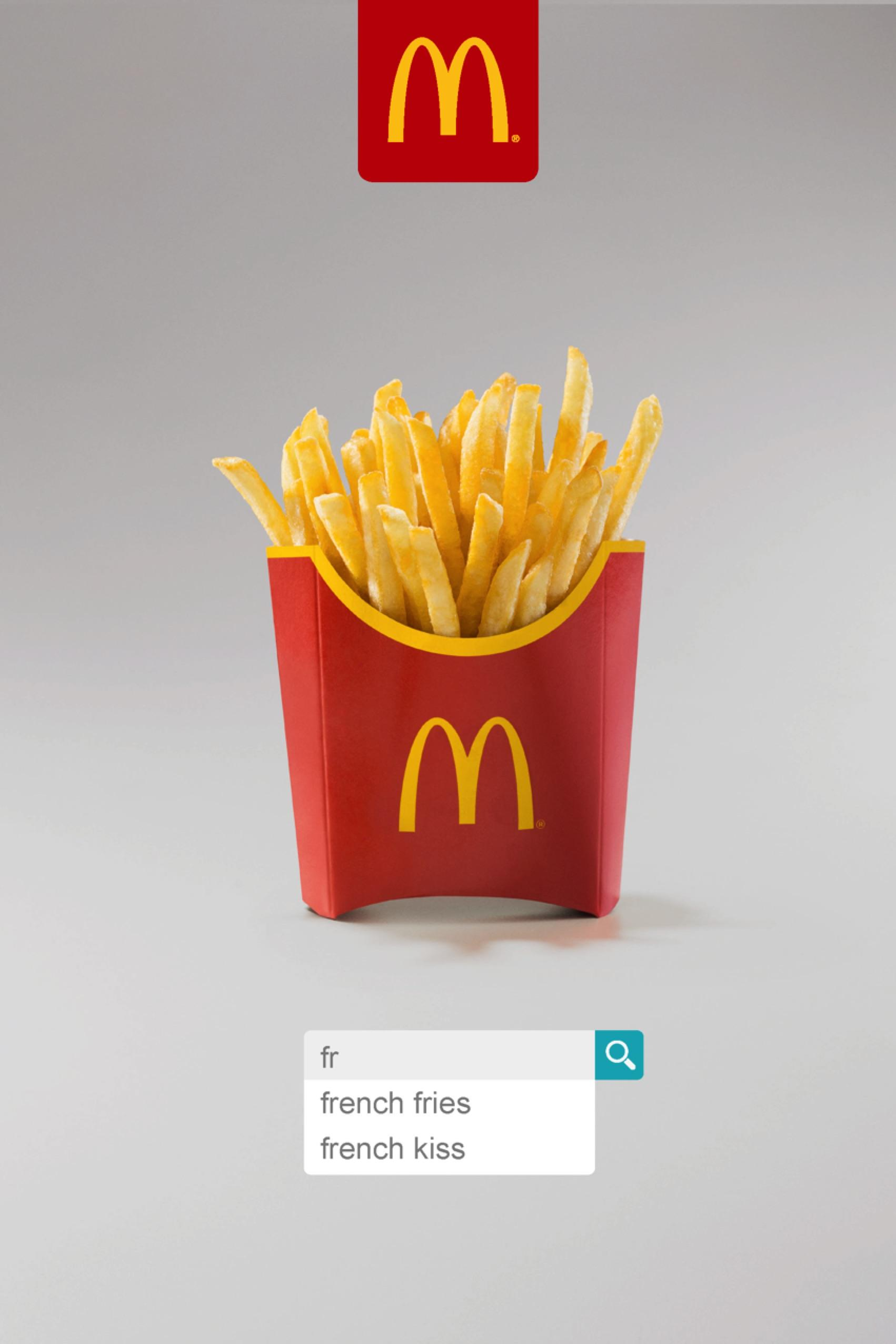 McDonald's Outdoor Advert By Leo Burnett: French Fries ...
