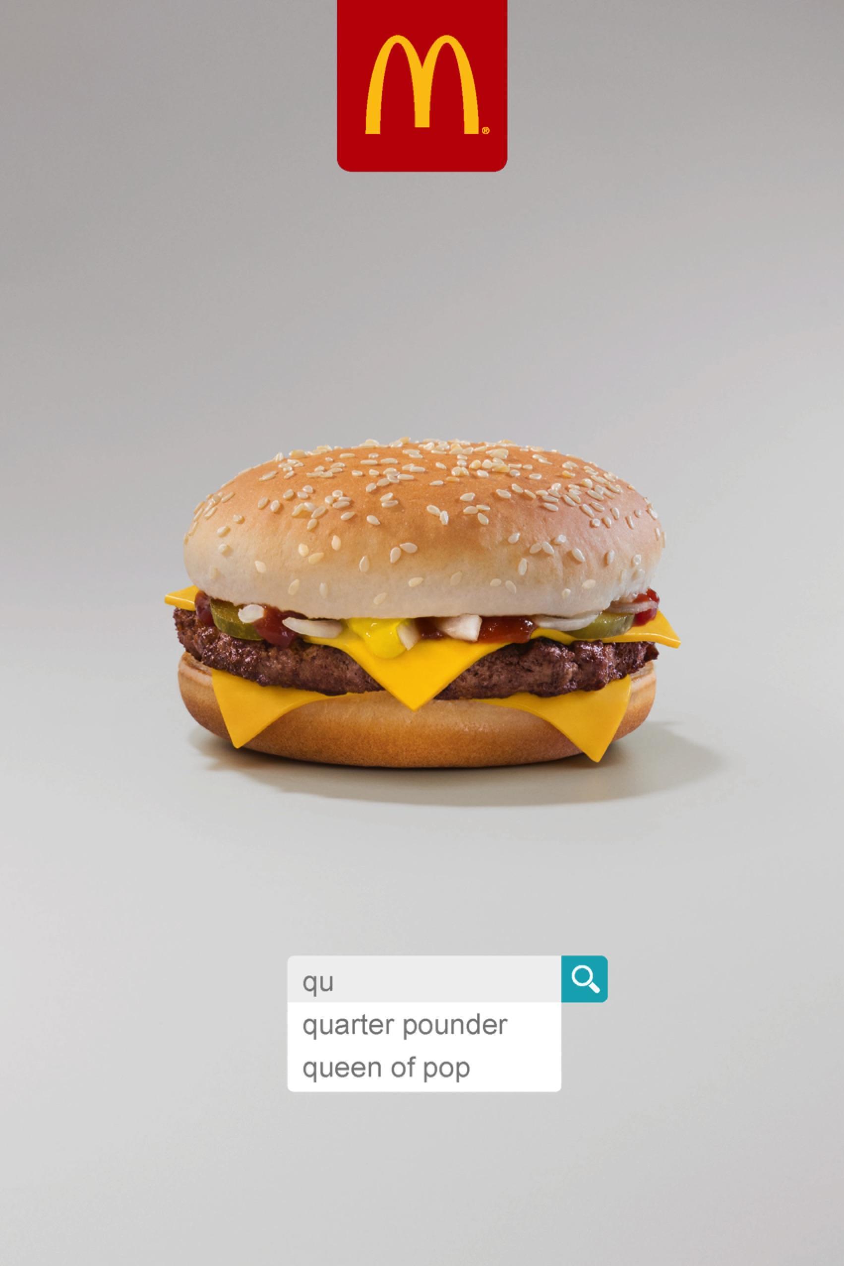 McDonald's Outdoor Ad - Quarter Pounder