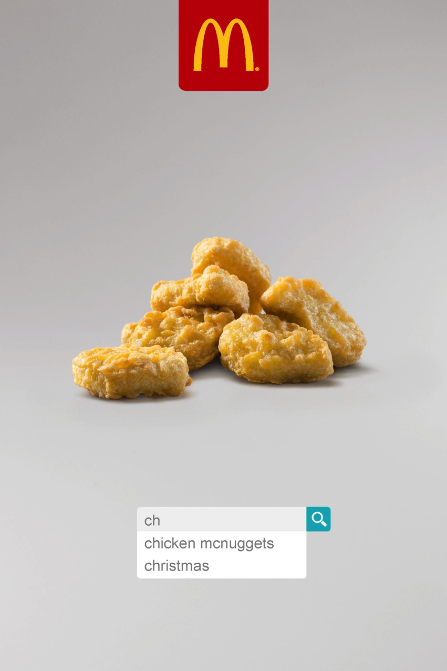 McDonald's Outdoor Ad - Chicken McNuggets