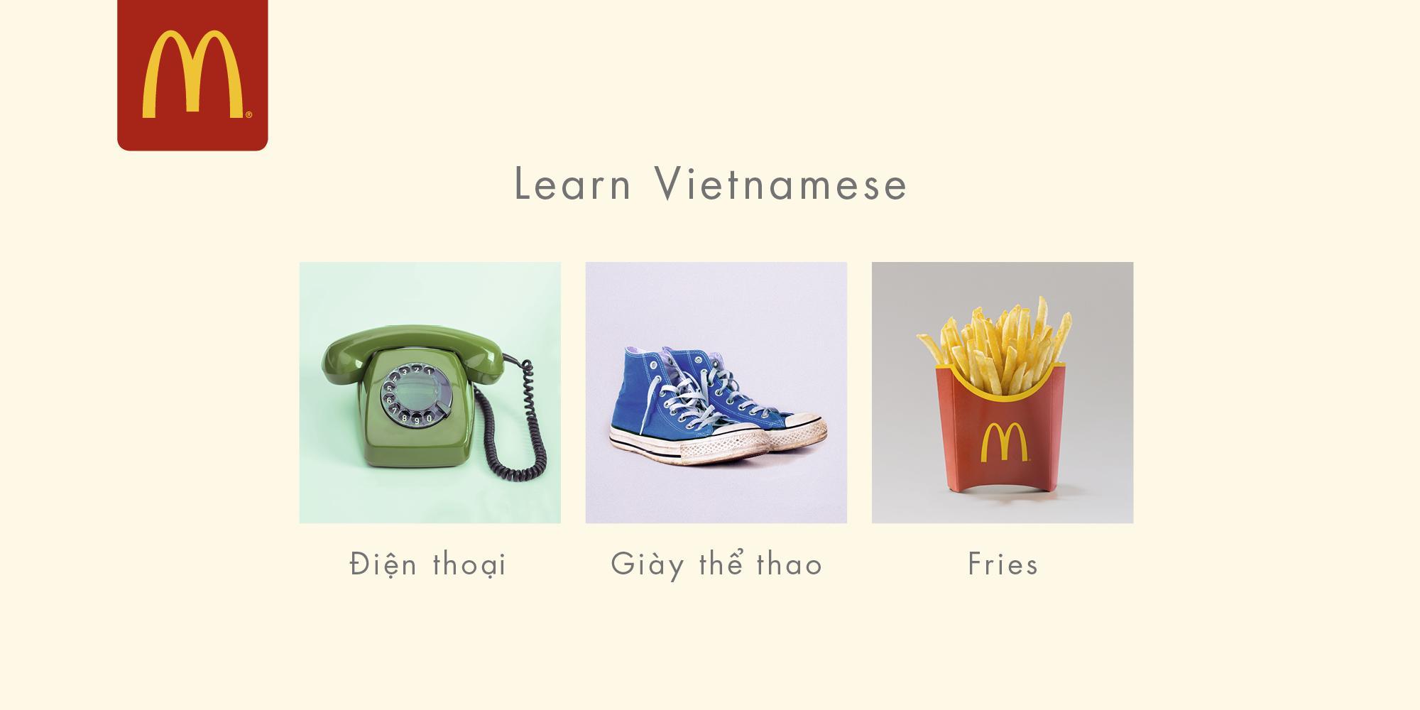 McDonald's Outdoor Ad - Vietnamese