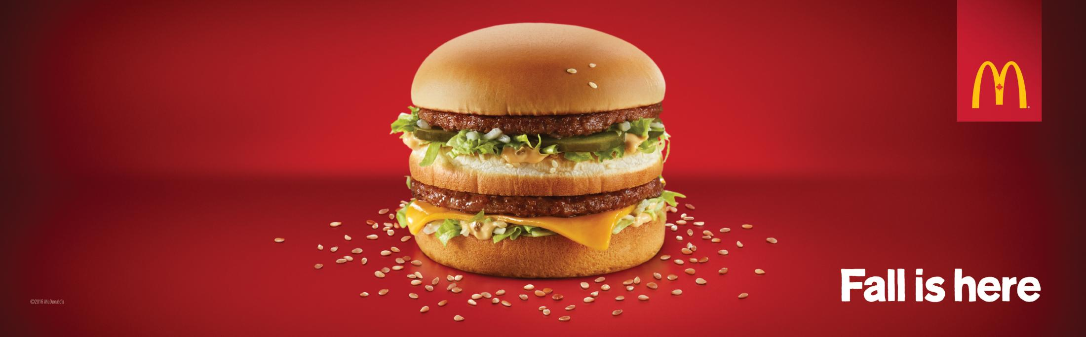 McDonald's Print Ad - Fall is here