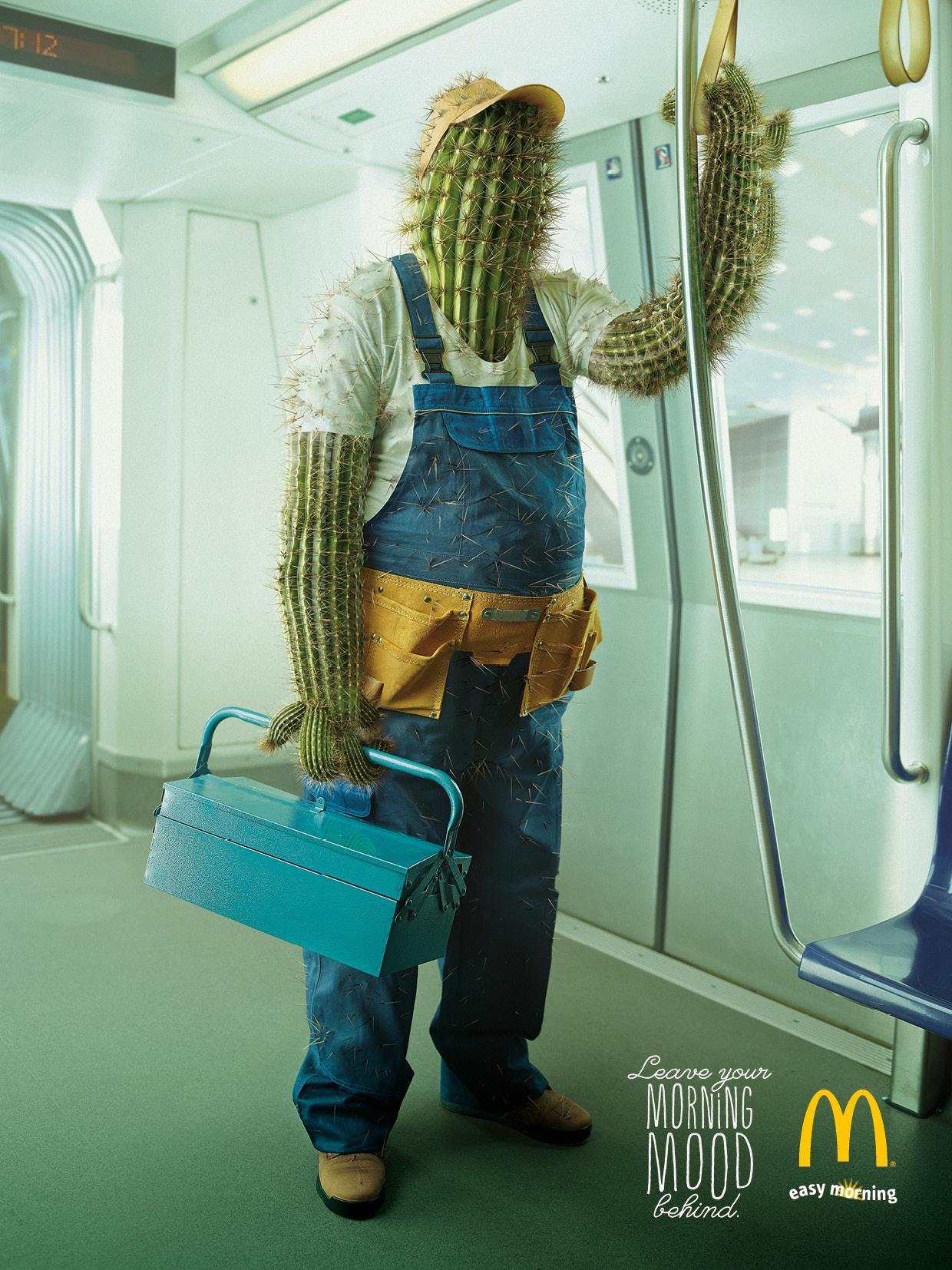 McDonald's Print Ad -  Cactus