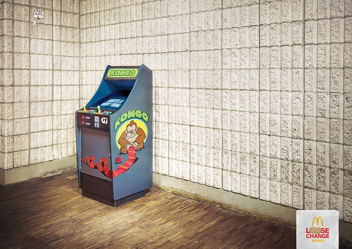 McDonald's Print Ad -  Lonely Arcade